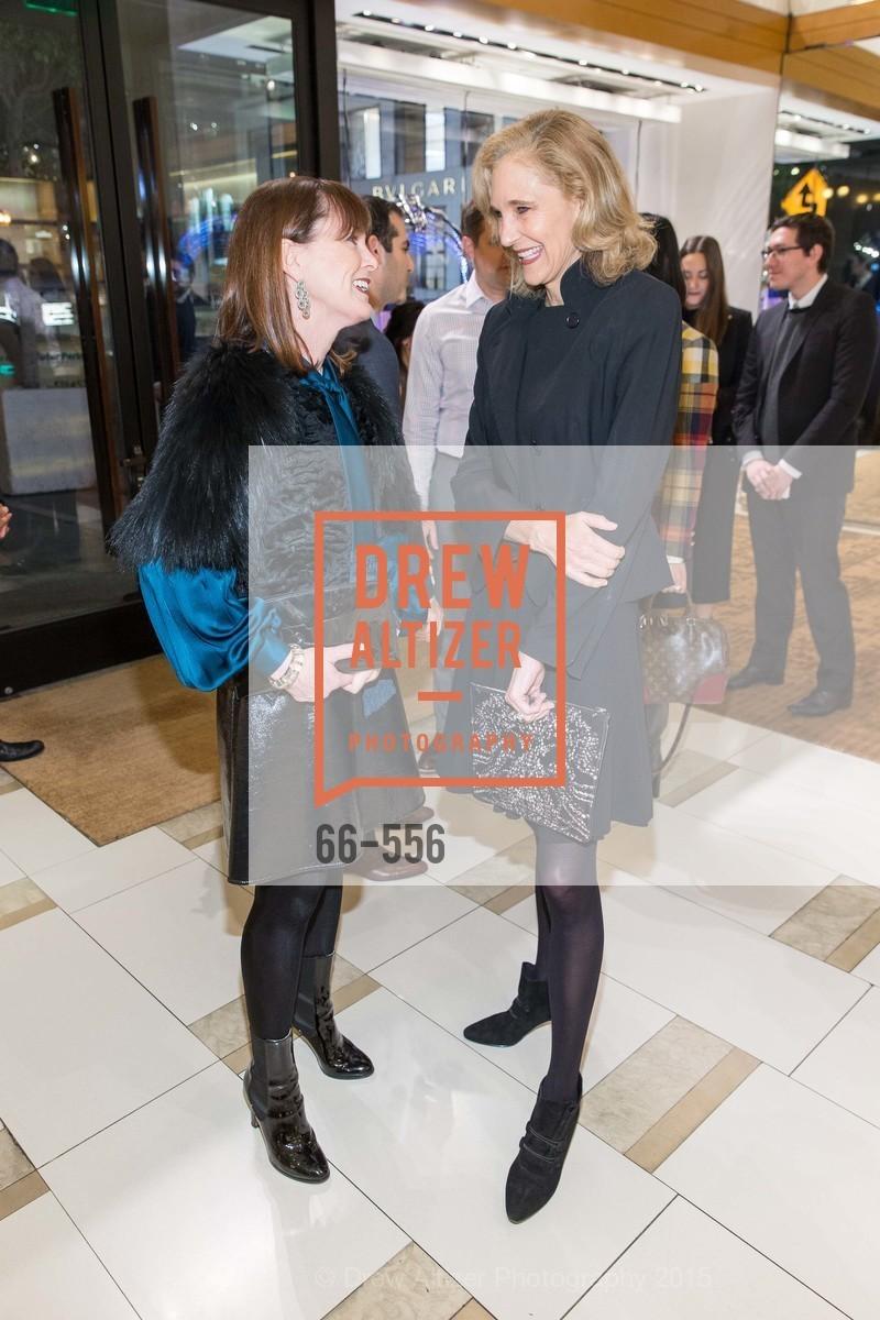 Allison Speer, Jennifer Biederbeck, ELLE and Louis Vuitton Resort 2016, Louis Vuitton. 233 Geary Street, November 19th, 2015