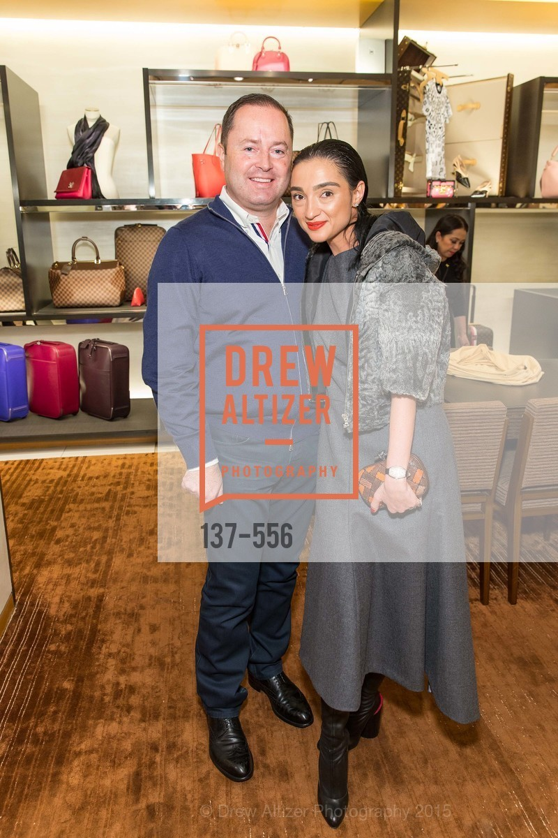 Edward Dubrovsky, Olya Dubrovsky, ELLE and Louis Vuitton Resort 2016, Louis Vuitton. 233 Geary Street, November 19th, 2015,Drew Altizer, Drew Altizer Photography, full-service agency, private events, San Francisco photographer, photographer california