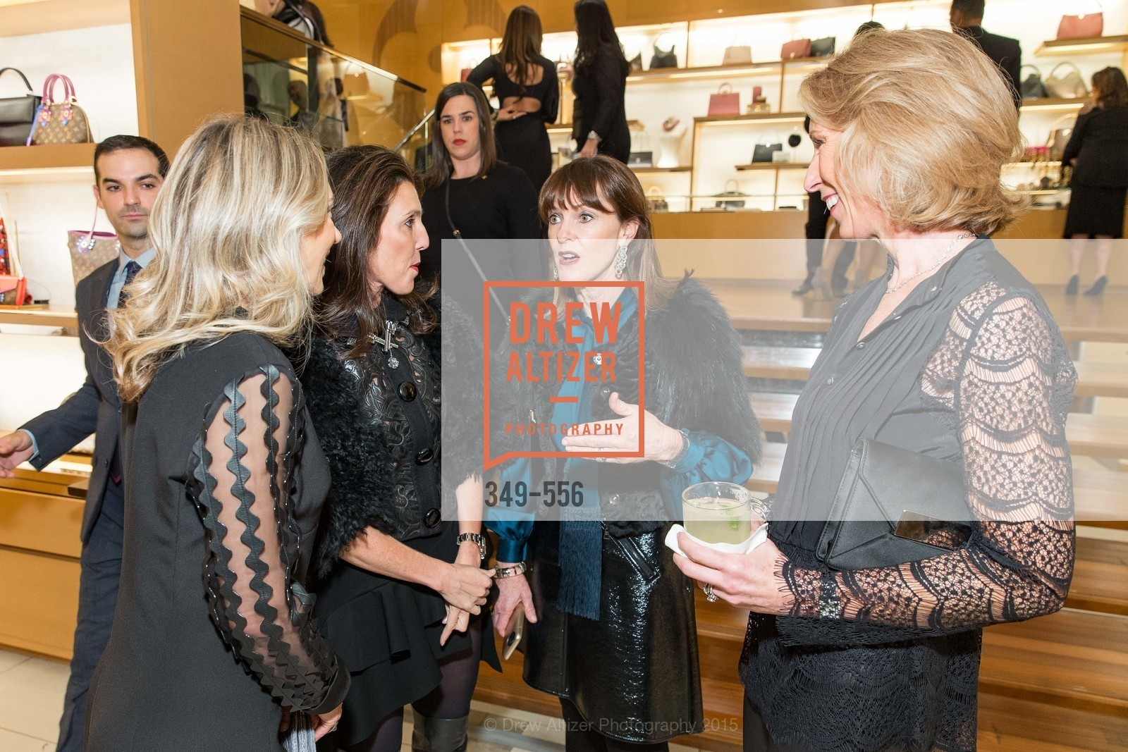 Juliet de Baubigny, Sloan Barnett, Allison Speer, Mikey Hoag, ELLE and Louis Vuitton Resort 2016, Louis Vuitton. 233 Geary Street, November 19th, 2015,Drew Altizer, Drew Altizer Photography, full-service agency, private events, San Francisco photographer, photographer california