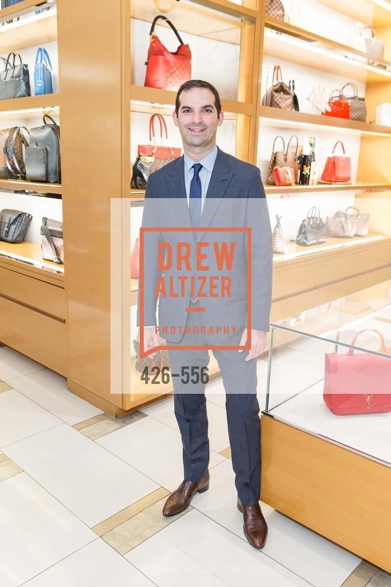 Justin Betrock, ELLE and Louis Vuitton Resort 2016, Louis Vuitton. 233 Geary Street, November 19th, 2015