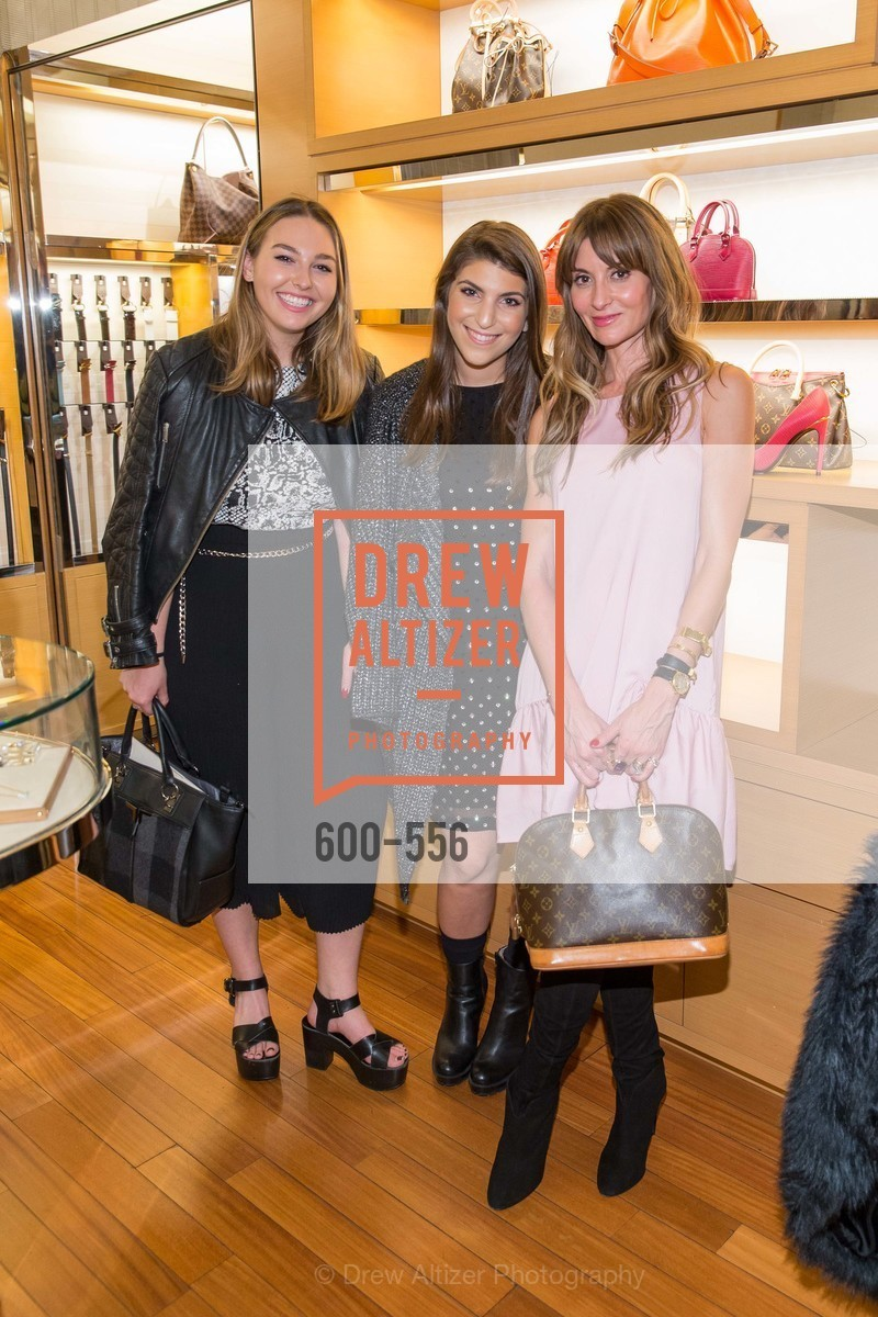 Elise Filter, Sophia Felson, Mary Gonsalves Kinney, ELLE and Louis Vuitton Resort 2016, Louis Vuitton. 233 Geary Street, November 19th, 2015,Drew Altizer, Drew Altizer Photography, full-service agency, private events, San Francisco photographer, photographer california