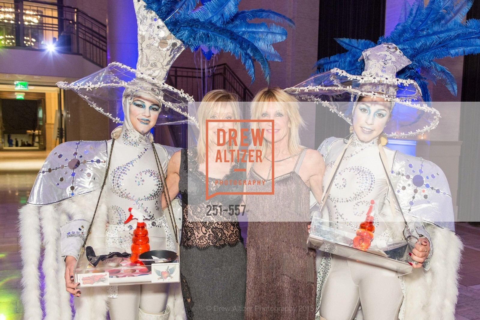 Barbara Winchell, Sandy Mandel, Cirque du Soiree 2015, The Bentley Reserve. 2525 Van Ness St, November 19th, 2015,Drew Altizer, Drew Altizer Photography, full-service agency, private events, San Francisco photographer, photographer california