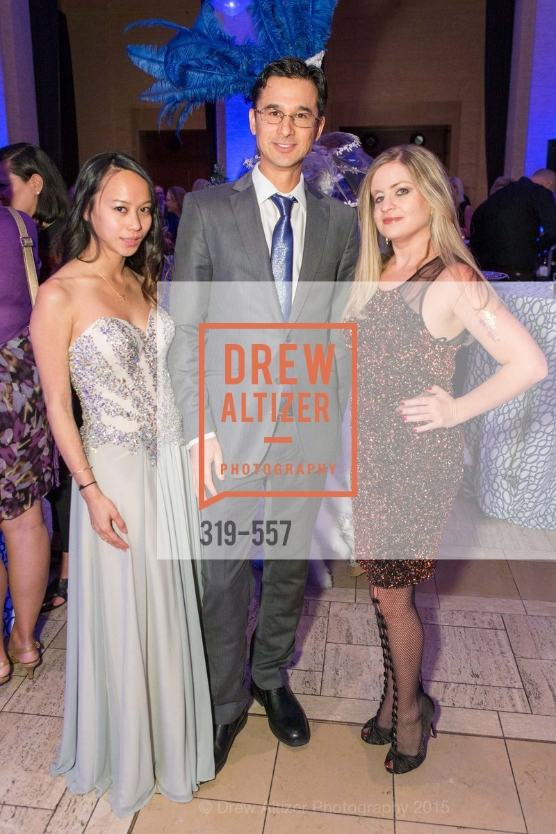 Jeannie Dang, Sterling Nakamura, Julie Hall, Cirque du Soiree 2015, The Bentley Reserve. 2525 Van Ness St, November 19th, 2015,Drew Altizer, Drew Altizer Photography, full-service agency, private events, San Francisco photographer, photographer california