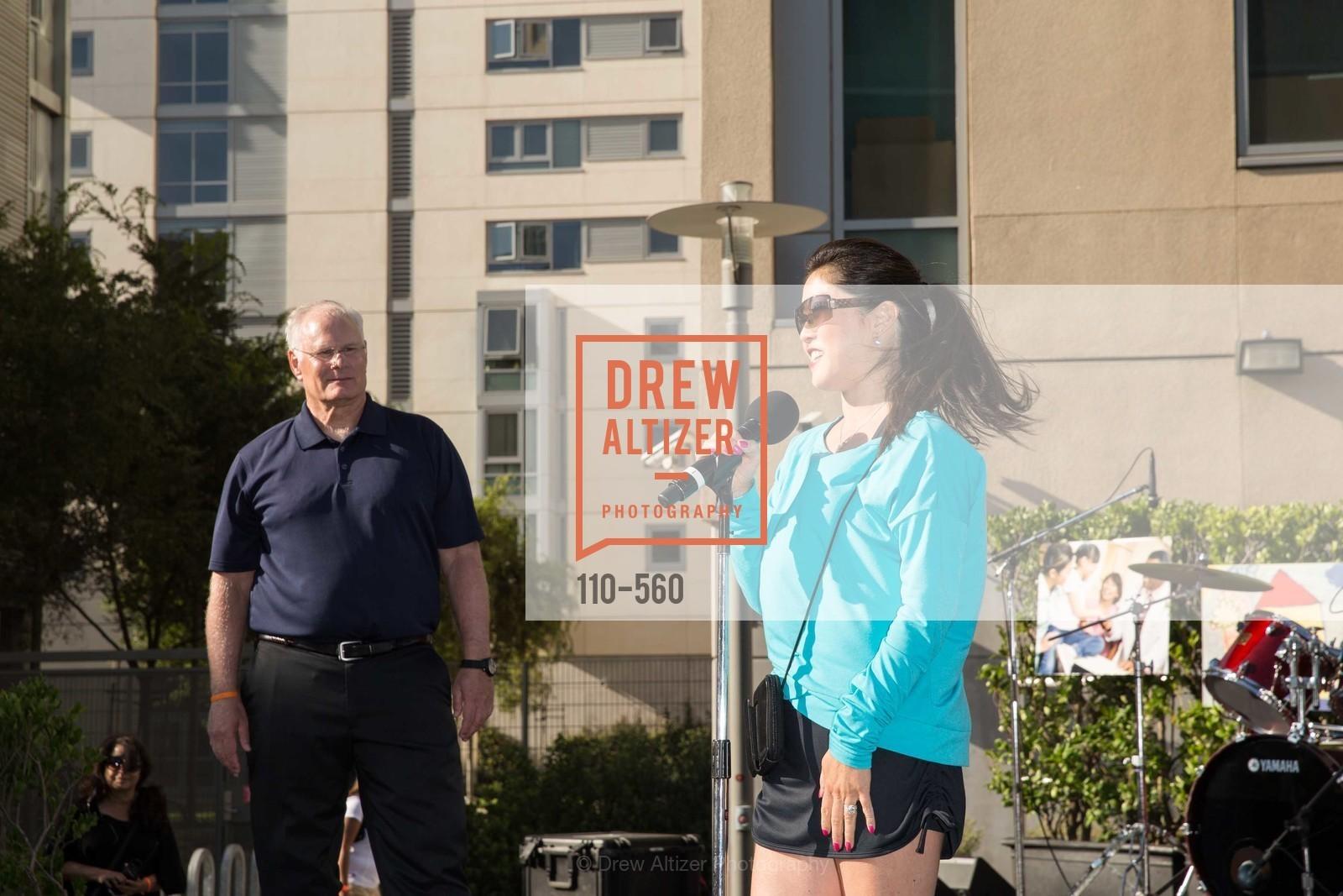 Mark Laret, Kristi Yamaguchi, UCSF Medical Center HARD HAT WALK & LIGHTS ON FESTIVAL, US, September 6th, 2014,Drew Altizer, Drew Altizer Photography, full-service agency, private events, San Francisco photographer, photographer california