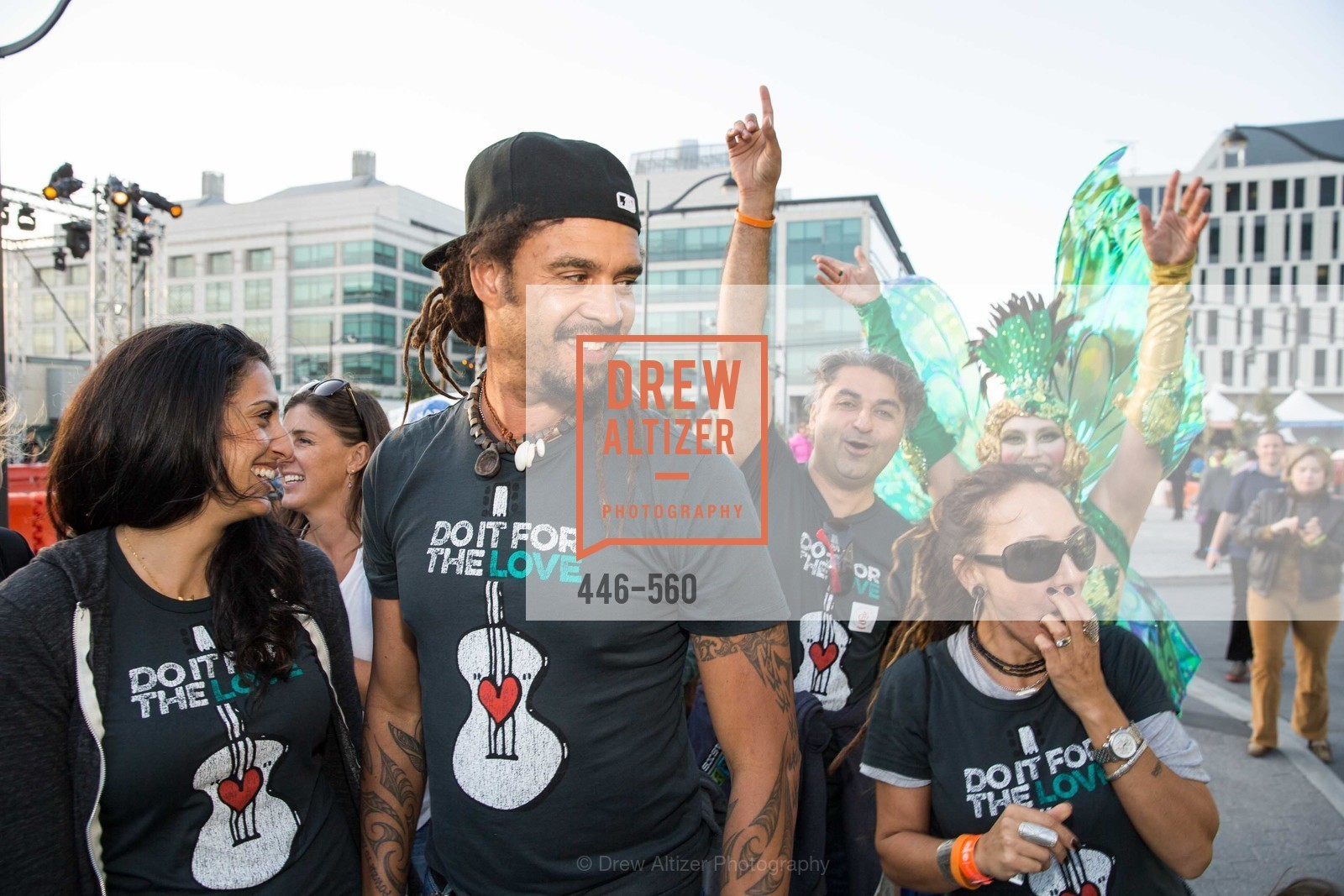 Sara Agah, Michael Franti, Hooman Khalili, UCSF Medical Center HARD HAT WALK & LIGHTS ON FESTIVAL, US, September 6th, 2014,Drew Altizer, Drew Altizer Photography, full-service agency, private events, San Francisco photographer, photographer california