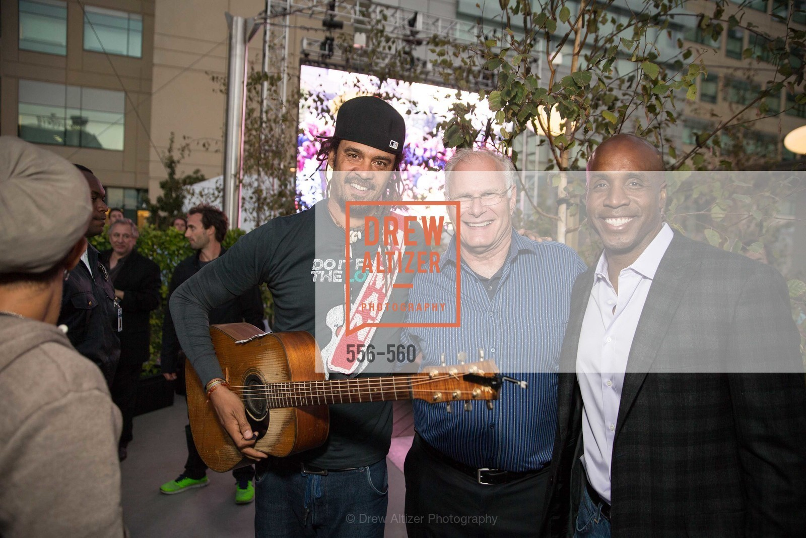 Michael Franti, Mark Laret, Barry Bonds, UCSF Medical Center HARD HAT WALK & LIGHTS ON FESTIVAL, US, September 6th, 2014,Drew Altizer, Drew Altizer Photography, full-service agency, private events, San Francisco photographer, photographer california