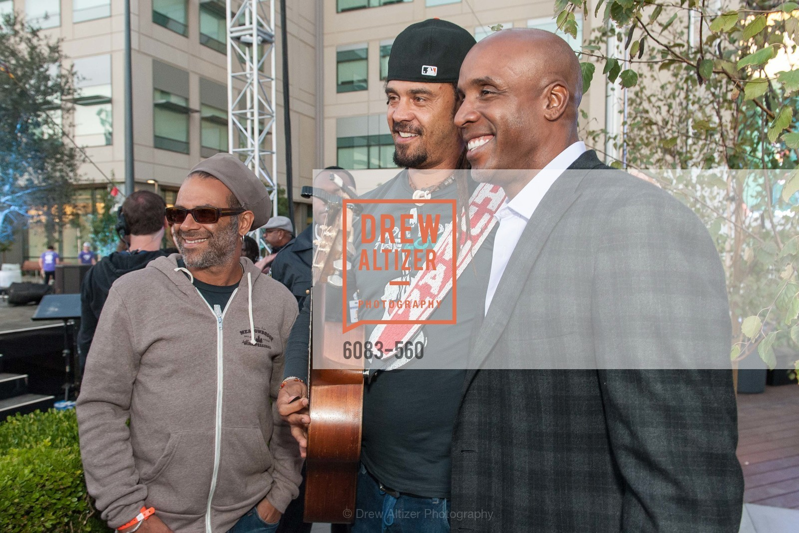 Michael Franti, Barry Bonds, UCSF Medical Center HARD HAT WALK & LIGHTS ON FESTIVAL, US, September 6th, 2014,Drew Altizer, Drew Altizer Photography, full-service agency, private events, San Francisco photographer, photographer california