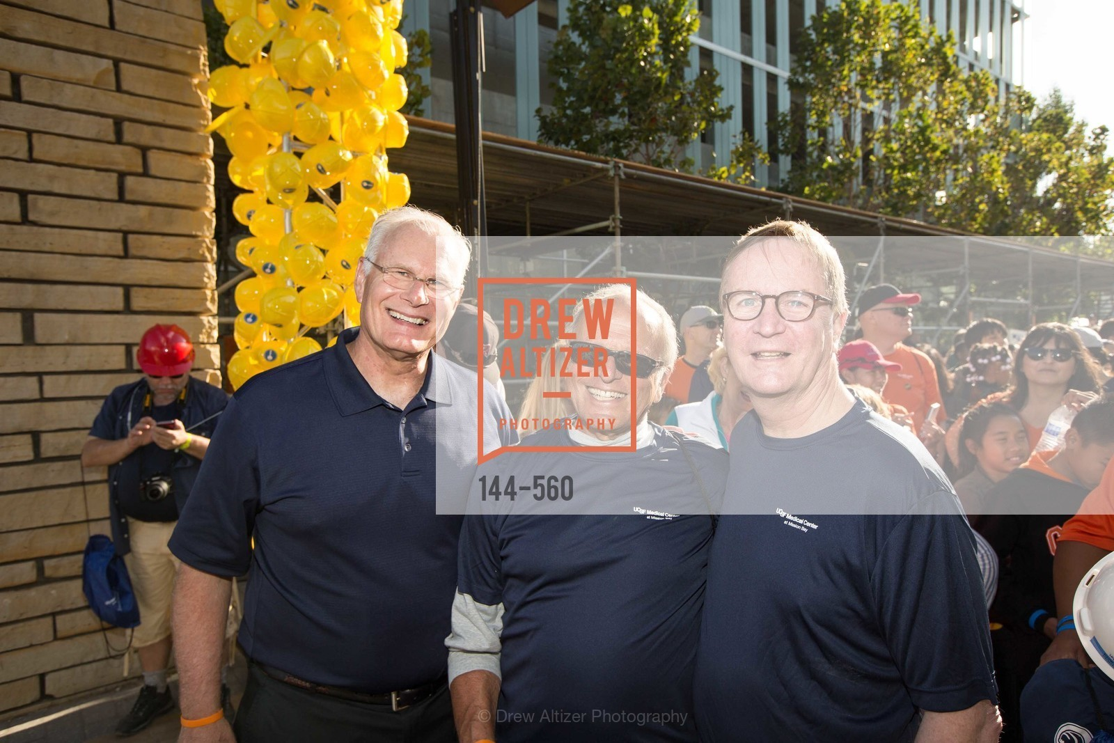 Mark Laret, Bert Lubin, Sam Hawgood, UCSF Medical Center HARD HAT WALK & LIGHTS ON FESTIVAL, US, September 6th, 2014,Drew Altizer, Drew Altizer Photography, full-service agency, private events, San Francisco photographer, photographer california