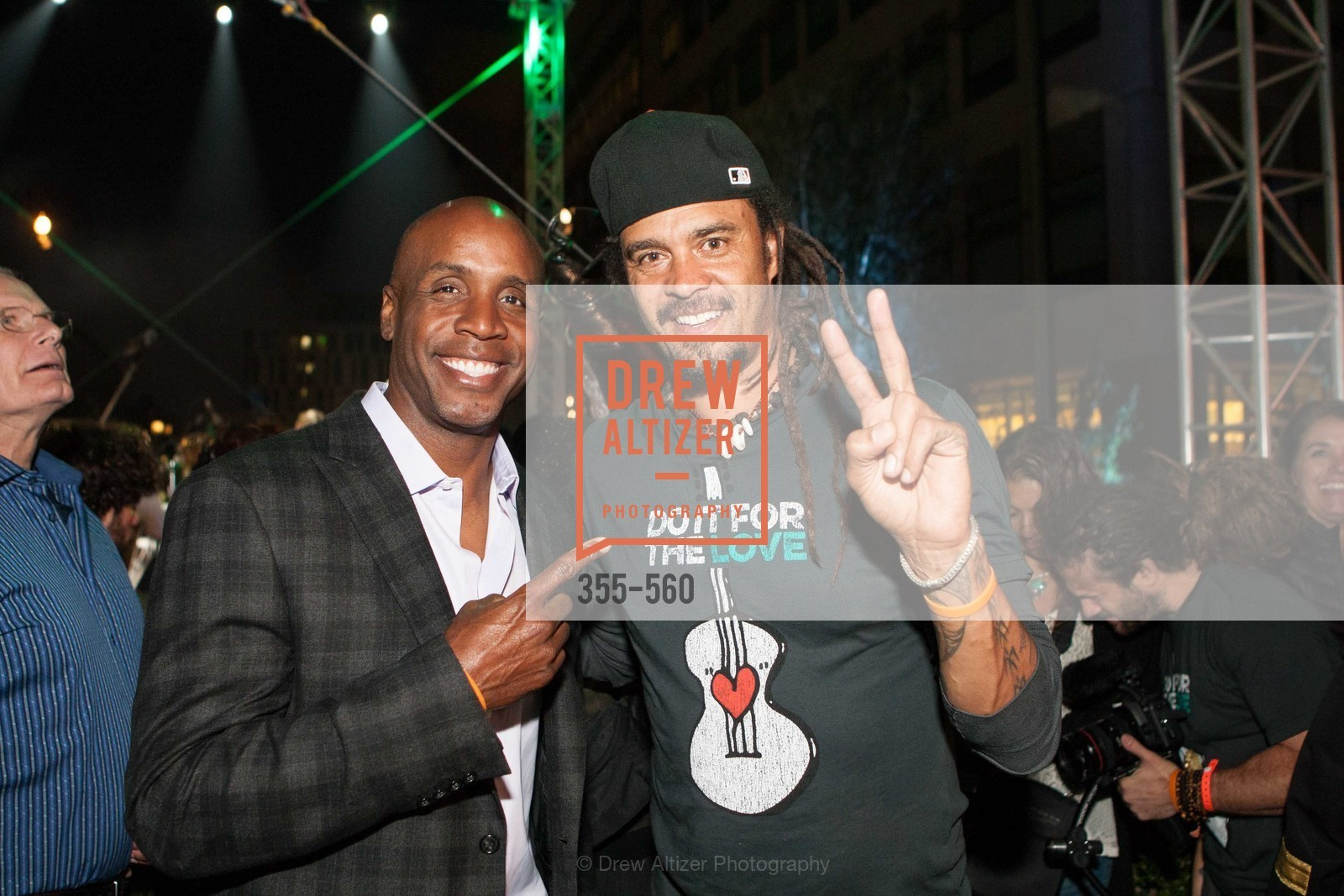 Barry Bonds, Michael Franti, UCSF Medical Center HARD HAT WALK & LIGHTS ON FESTIVAL, US, September 6th, 2014,Drew Altizer, Drew Altizer Photography, full-service agency, private events, San Francisco photographer, photographer california