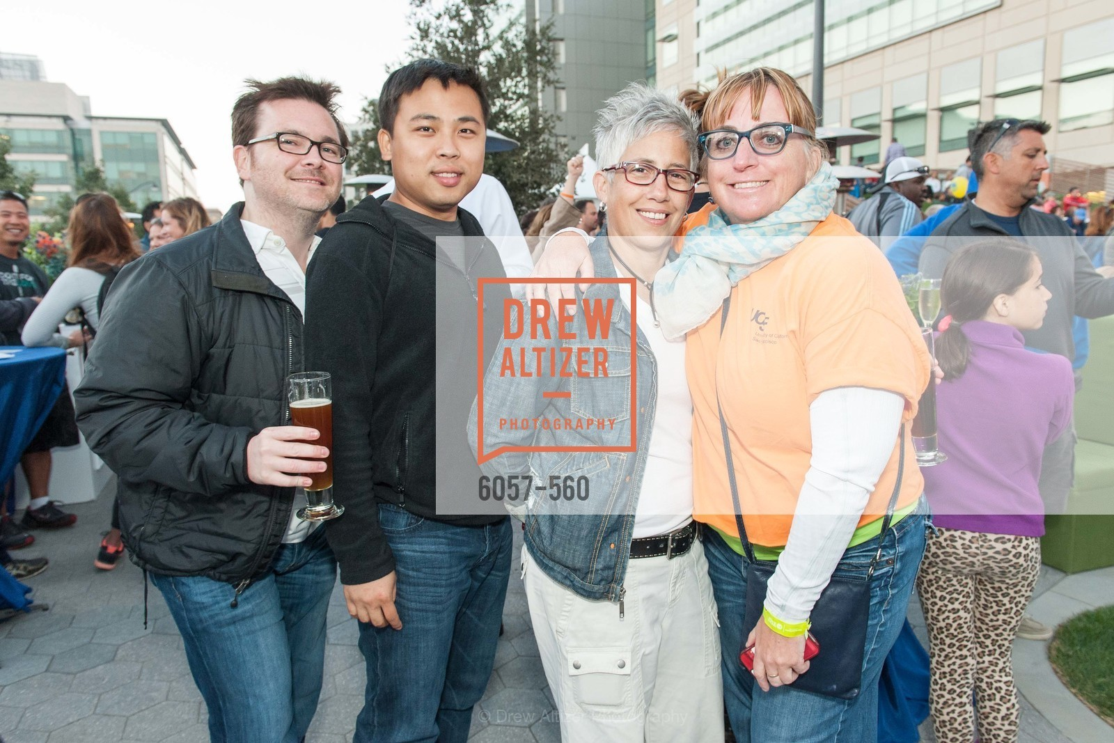 Rob Hatkins, Bao Nguyen, Marie Pompa, Jen Dowd, UCSF Medical Center HARD HAT WALK & LIGHTS ON FESTIVAL, US, September 6th, 2014,Drew Altizer, Drew Altizer Photography, full-service agency, private events, San Francisco photographer, photographer california