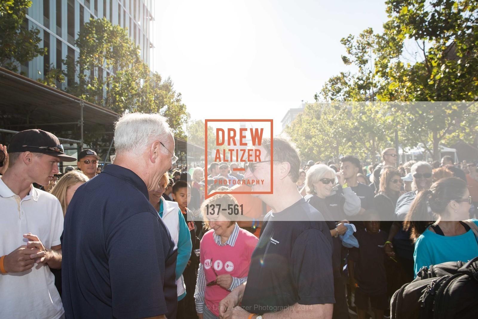 Mark Laret, Sam Hawgood, UCSF Medical Center HARD HAT WALK & LIGHTS ON FESTIVAL, US, September 6th, 2014