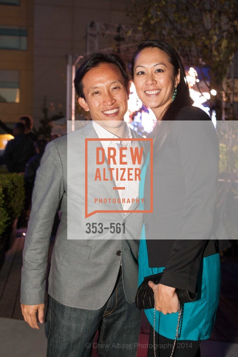 David Chiu, Candace Chen, UCSF Medical Center HARD HAT WALK & LIGHTS ON FESTIVAL, US, September 6th, 2014,Drew Altizer, Drew Altizer Photography, full-service agency, private events, San Francisco photographer, photographer california