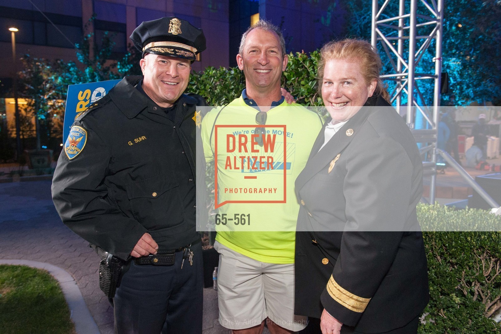 Greg Suhr, Stan Salvemini, Joanne Hayes-White, UCSF Medical Center HARD HAT WALK & LIGHTS ON FESTIVAL, US, September 6th, 2014,Drew Altizer, Drew Altizer Photography, full-service agency, private events, San Francisco photographer, photographer california