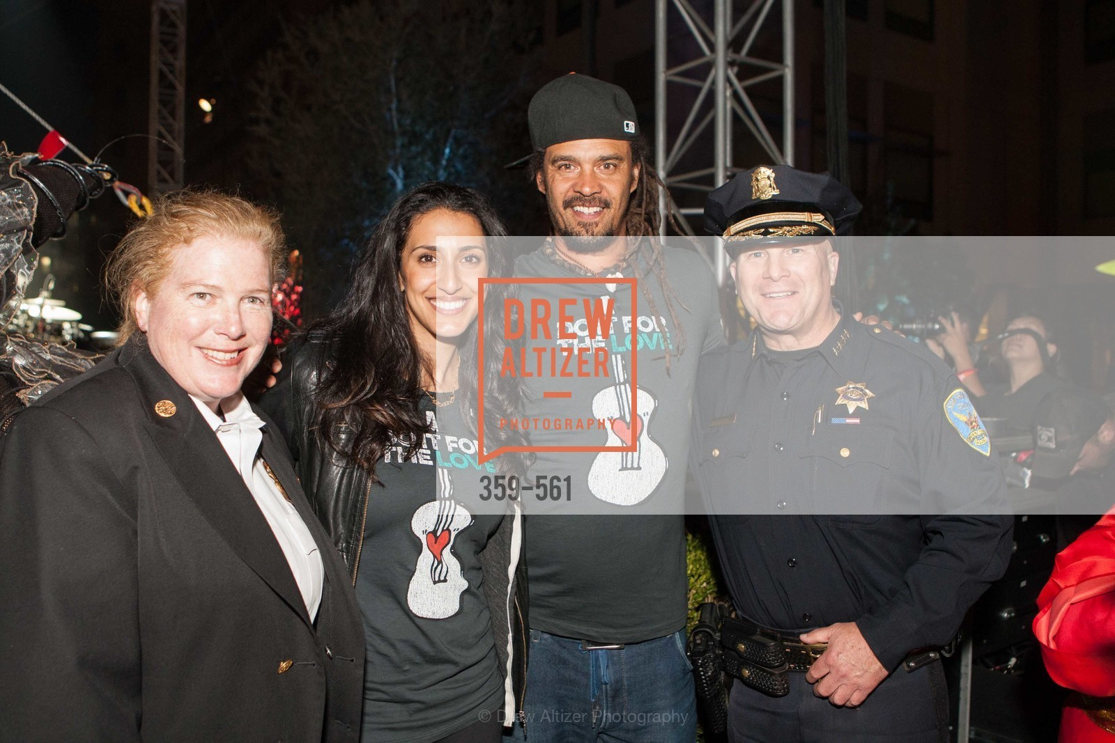 Joanne Hayes-White, Sara Agah, Michael Franti, Greg Suhr, UCSF Medical Center HARD HAT WALK & LIGHTS ON FESTIVAL, US, September 6th, 2014,Drew Altizer, Drew Altizer Photography, full-service agency, private events, San Francisco photographer, photographer california