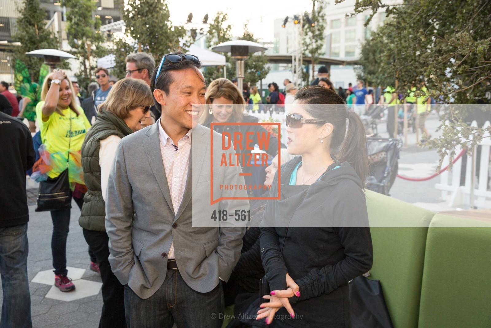 David Chiu, Kristi Yamaguchi, UCSF Medical Center HARD HAT WALK & LIGHTS ON FESTIVAL, US, September 6th, 2014,Drew Altizer, Drew Altizer Photography, full-service agency, private events, San Francisco photographer, photographer california
