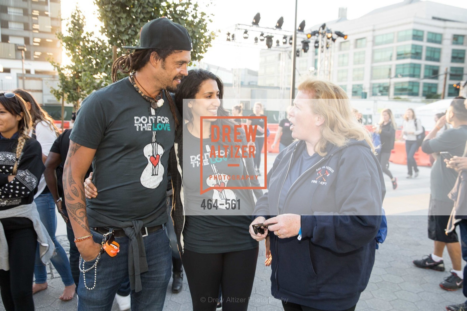 Michael Franti, Sara Agah, Joanne Hayes-White, UCSF Medical Center HARD HAT WALK & LIGHTS ON FESTIVAL, US, September 6th, 2014,Drew Altizer, Drew Altizer Photography, full-service agency, private events, San Francisco photographer, photographer california