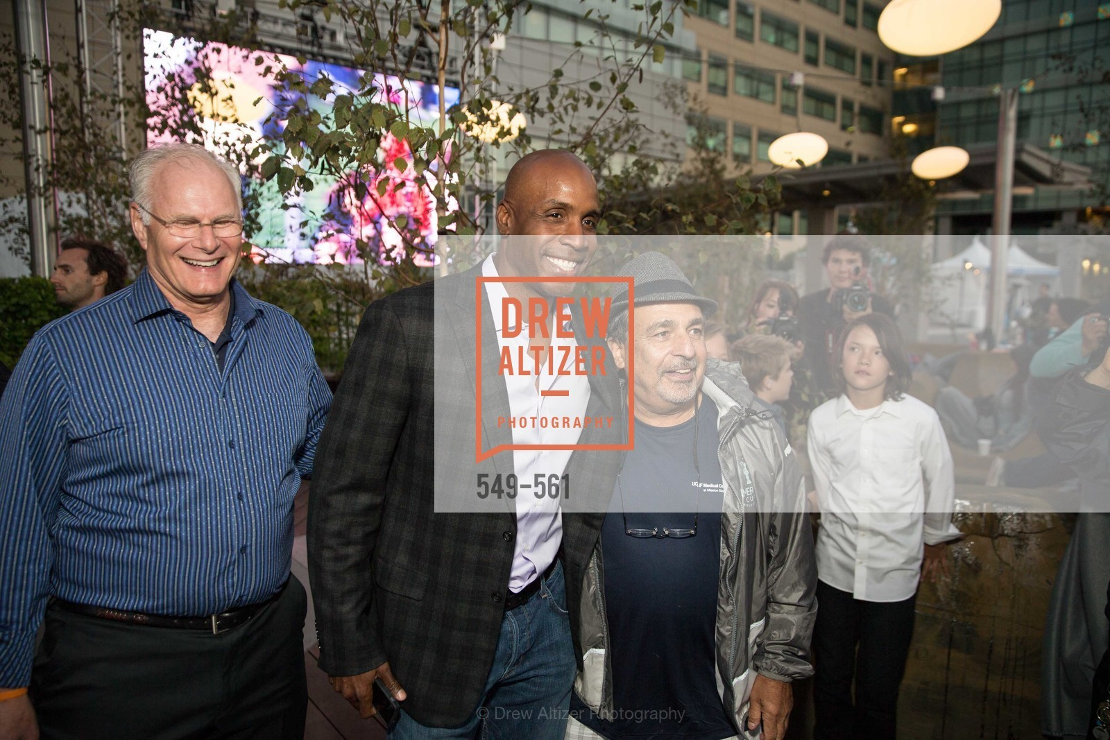 Mark Laret, Barry Bonds, UCSF Medical Center HARD HAT WALK & LIGHTS ON FESTIVAL, US, September 6th, 2014,Drew Altizer, Drew Altizer Photography, full-service agency, private events, San Francisco photographer, photographer california