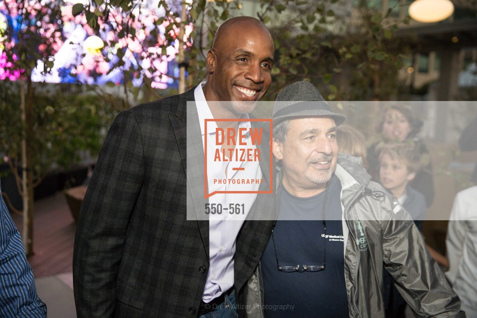 Barry Bonds, UCSF Medical Center HARD HAT WALK & LIGHTS ON FESTIVAL, US, September 6th, 2014