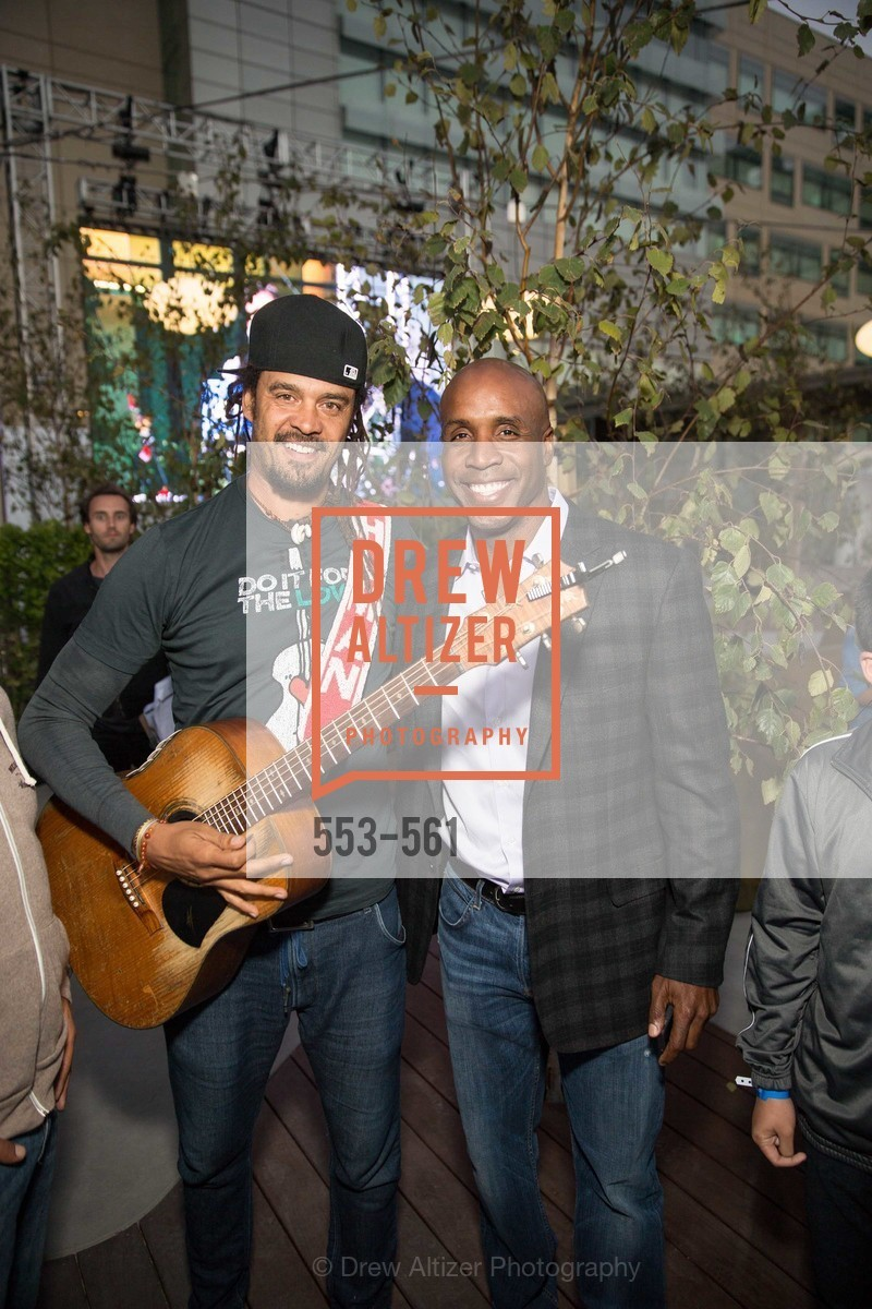 Michael Franti, Barry Bonds, UCSF Medical Center HARD HAT WALK & LIGHTS ON FESTIVAL, US, September 6th, 2014,Drew Altizer, Drew Altizer Photography, full-service event agency, private events, San Francisco photographer, photographer California
