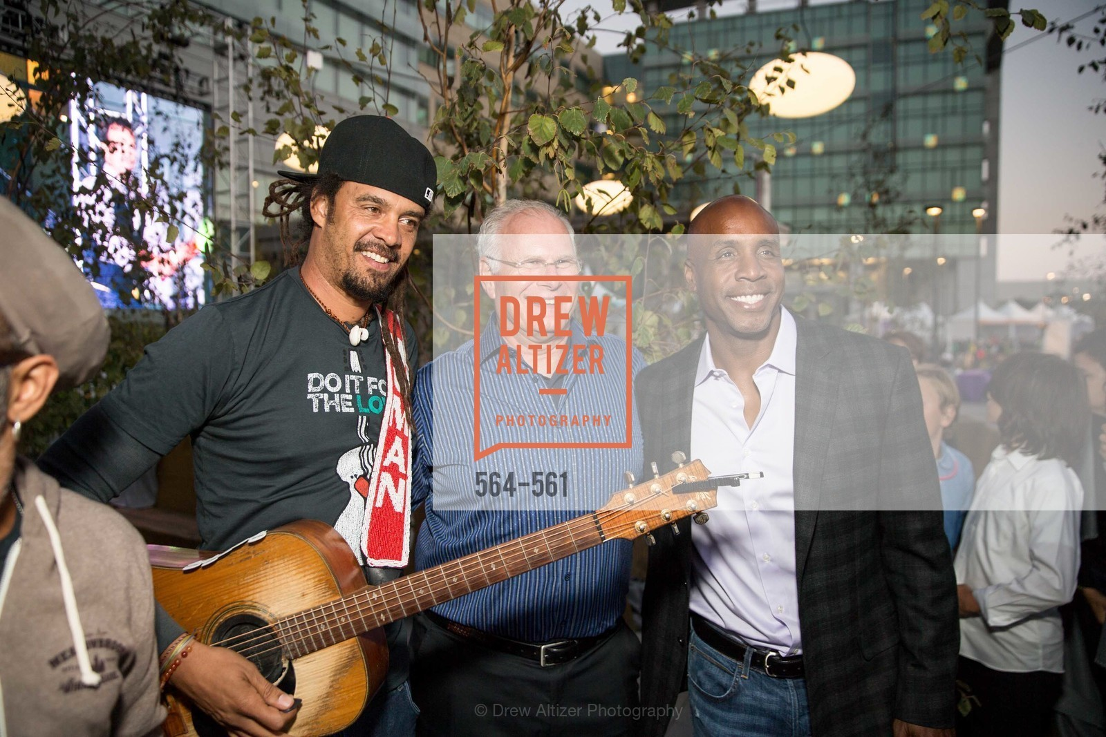 Michael Franti, Mark Laret, Barry Bonds, UCSF Medical Center HARD HAT WALK & LIGHTS ON FESTIVAL, US, September 6th, 2014,Drew Altizer, Drew Altizer Photography, full-service event agency, private events, San Francisco photographer, photographer California