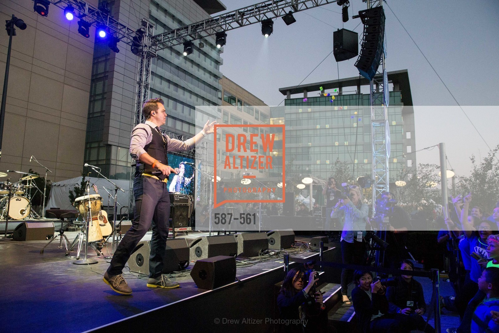 Performance By DJ Cory Live!, UCSF Medical Center HARD HAT WALK & LIGHTS ON FESTIVAL, US, September 6th, 2014,Drew Altizer, Drew Altizer Photography, full-service agency, private events, San Francisco photographer, photographer california