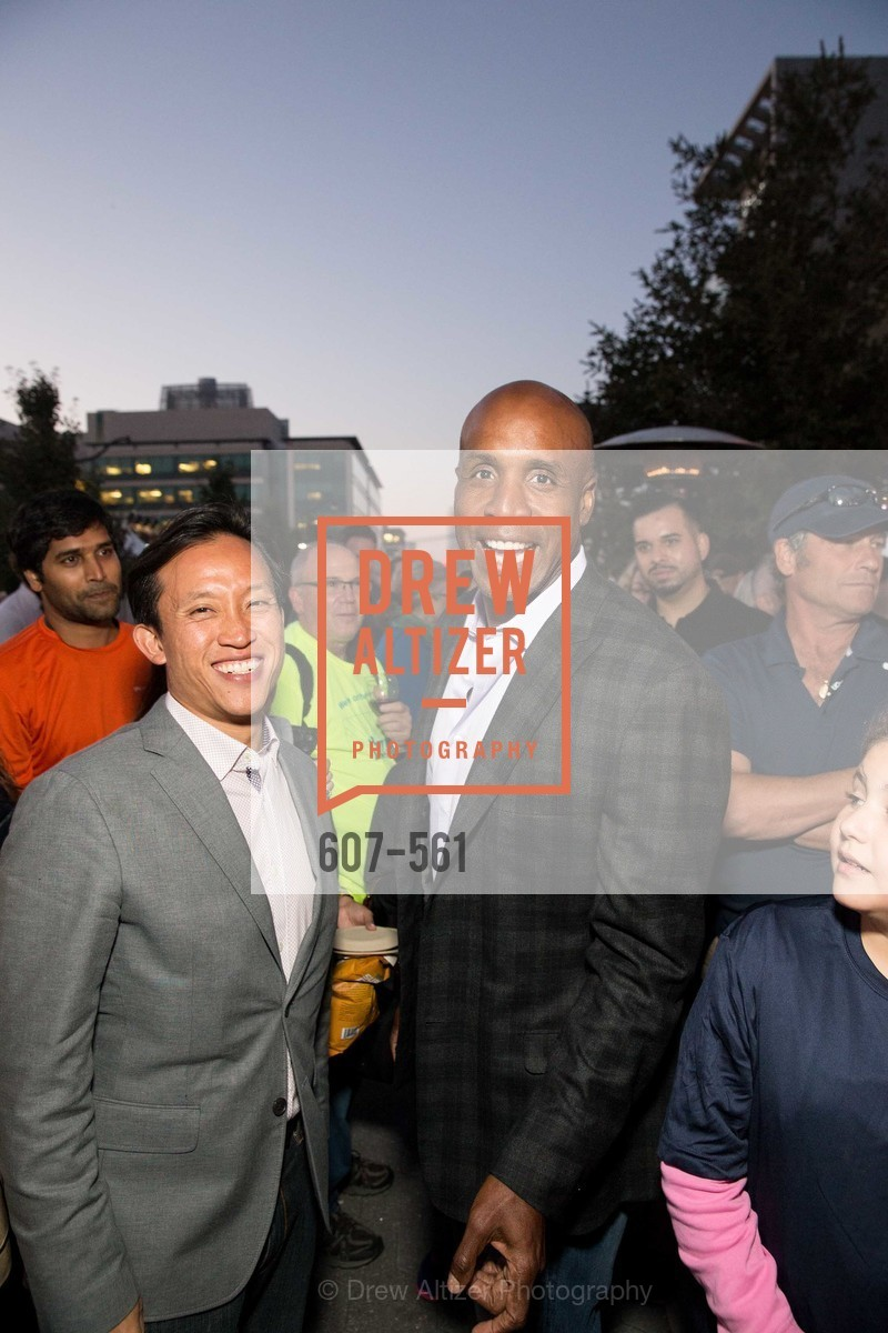 David Chiu, Barry Bonds, UCSF Medical Center HARD HAT WALK & LIGHTS ON FESTIVAL, US, September 6th, 2014,Drew Altizer, Drew Altizer Photography, full-service agency, private events, San Francisco photographer, photographer california