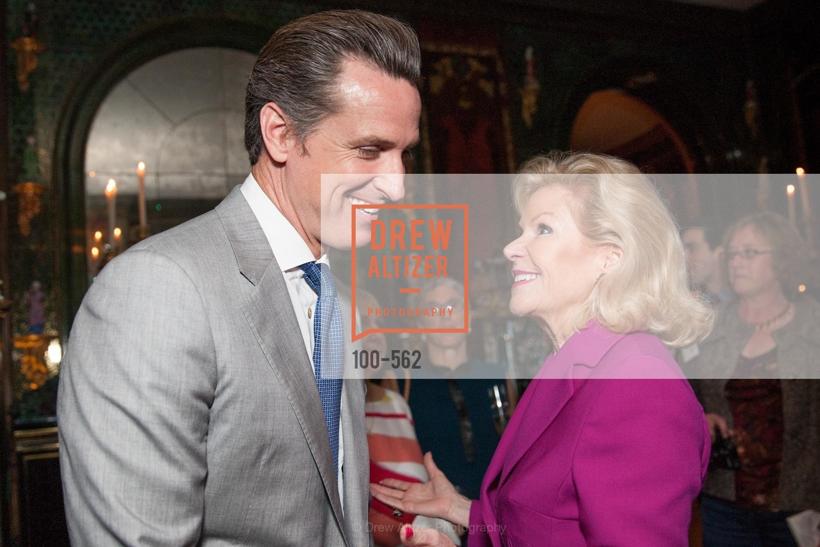Honorable Gavin Newsom, Dede Wilsey, SARAH GRANGER's