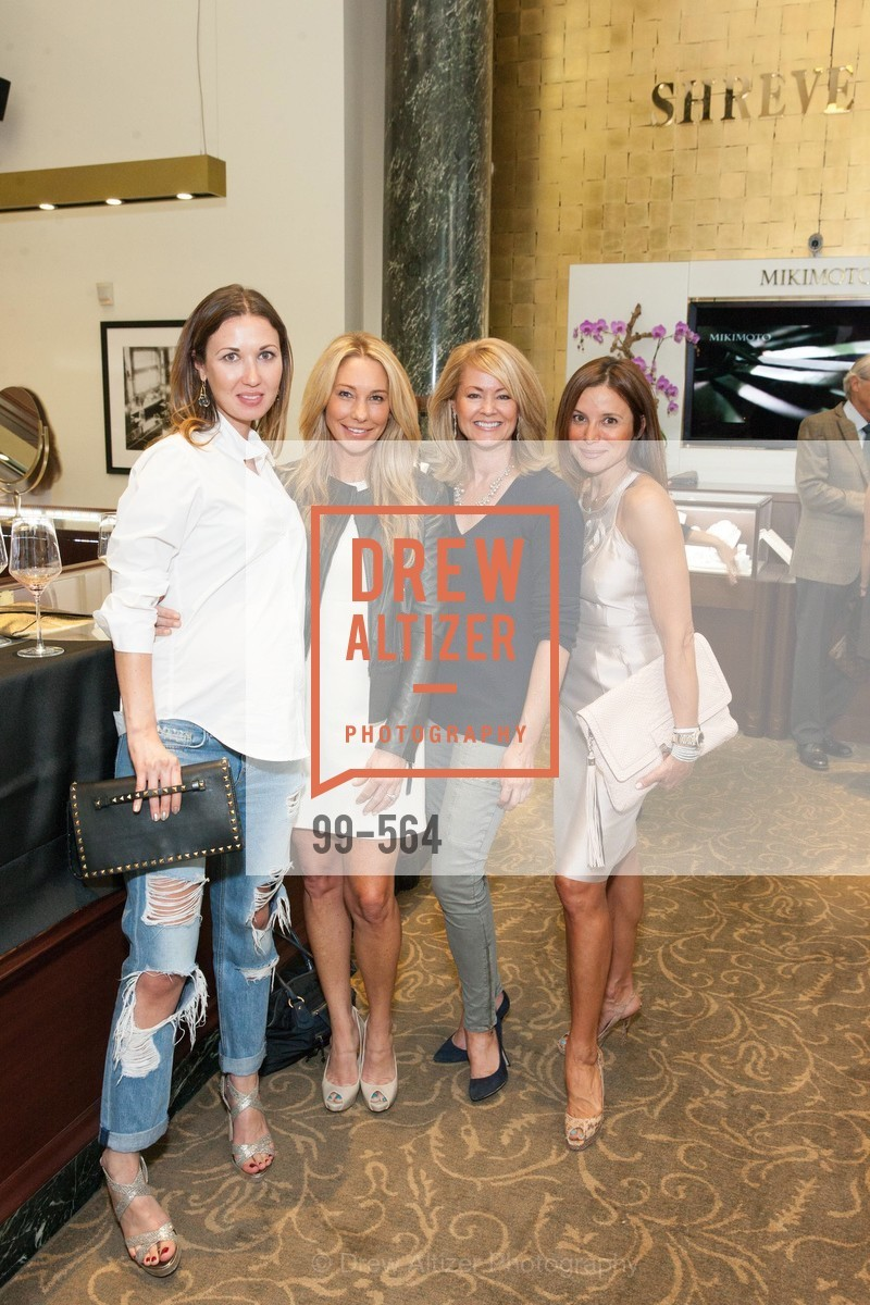 Camilla Papale, Tiffany Cummins, Sue Chrispell, Claudia Ross, SHREVE & CO. Hosts AMERICAN CANCER SOCIETY BENEFIT, US, September 10th, 2014,Drew Altizer, Drew Altizer Photography, full-service event agency, private events, San Francisco photographer, photographer California
