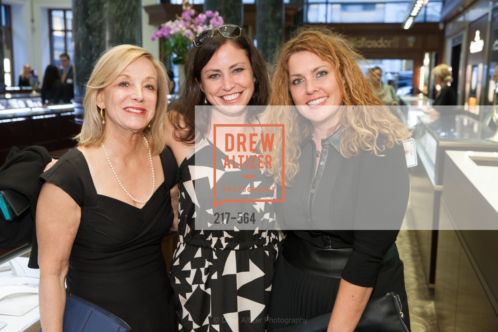 Judie Doherty, Alyse Zukalski, Jill Jepson, SHREVE & CO. Hosts AMERICAN CANCER SOCIETY BENEFIT, US, September 10th, 2014,Drew Altizer, Drew Altizer Photography, full-service agency, private events, San Francisco photographer, photographer california