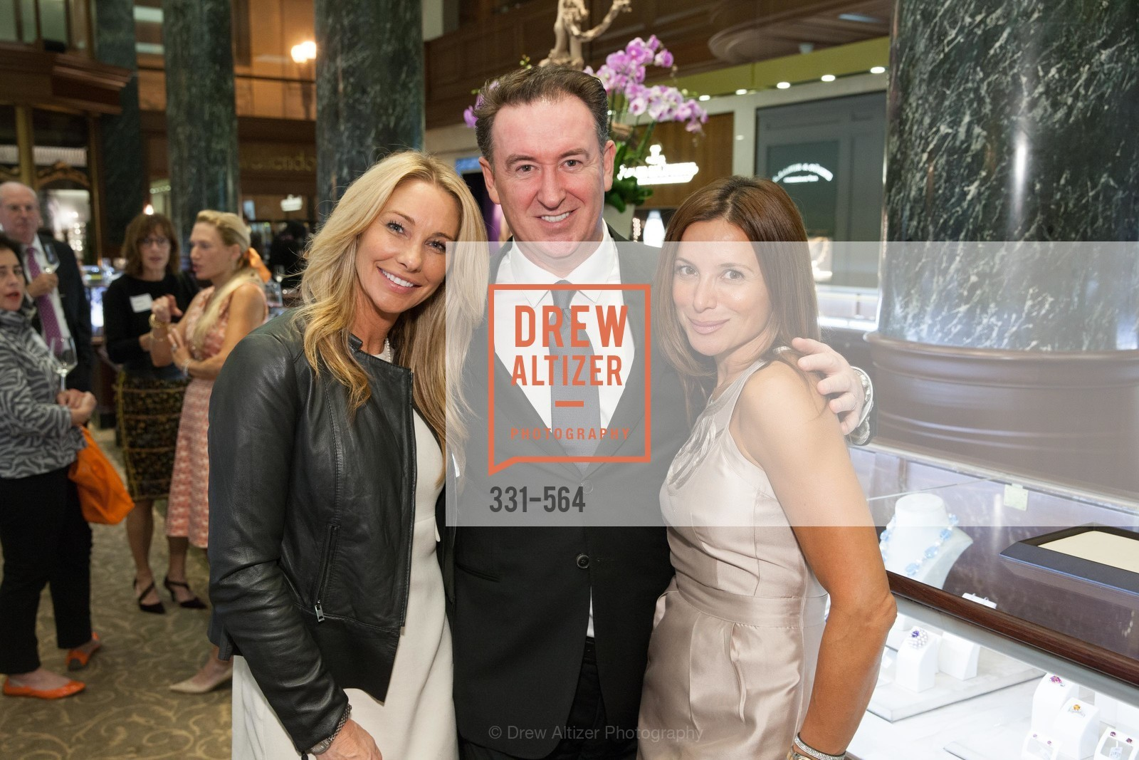 Tiffany Cummins, Glen Ross, Claudia Ross, SHREVE & CO. Hosts AMERICAN CANCER SOCIETY BENEFIT, US, September 10th, 2014,Drew Altizer, Drew Altizer Photography, full-service agency, private events, San Francisco photographer, photographer california