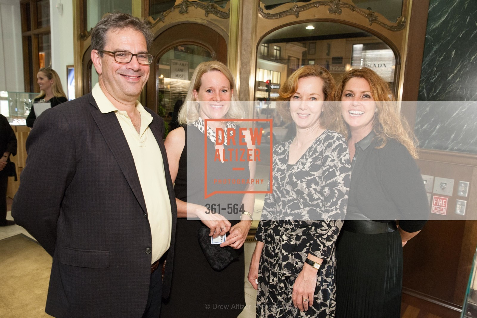 Hank Fuchs, Kathryn Lowell, Katie D'Alessandro, Jill Jepson, SHREVE & CO. Hosts AMERICAN CANCER SOCIETY BENEFIT, US, September 10th, 2014,Drew Altizer, Drew Altizer Photography, full-service event agency, private events, San Francisco photographer, photographer California