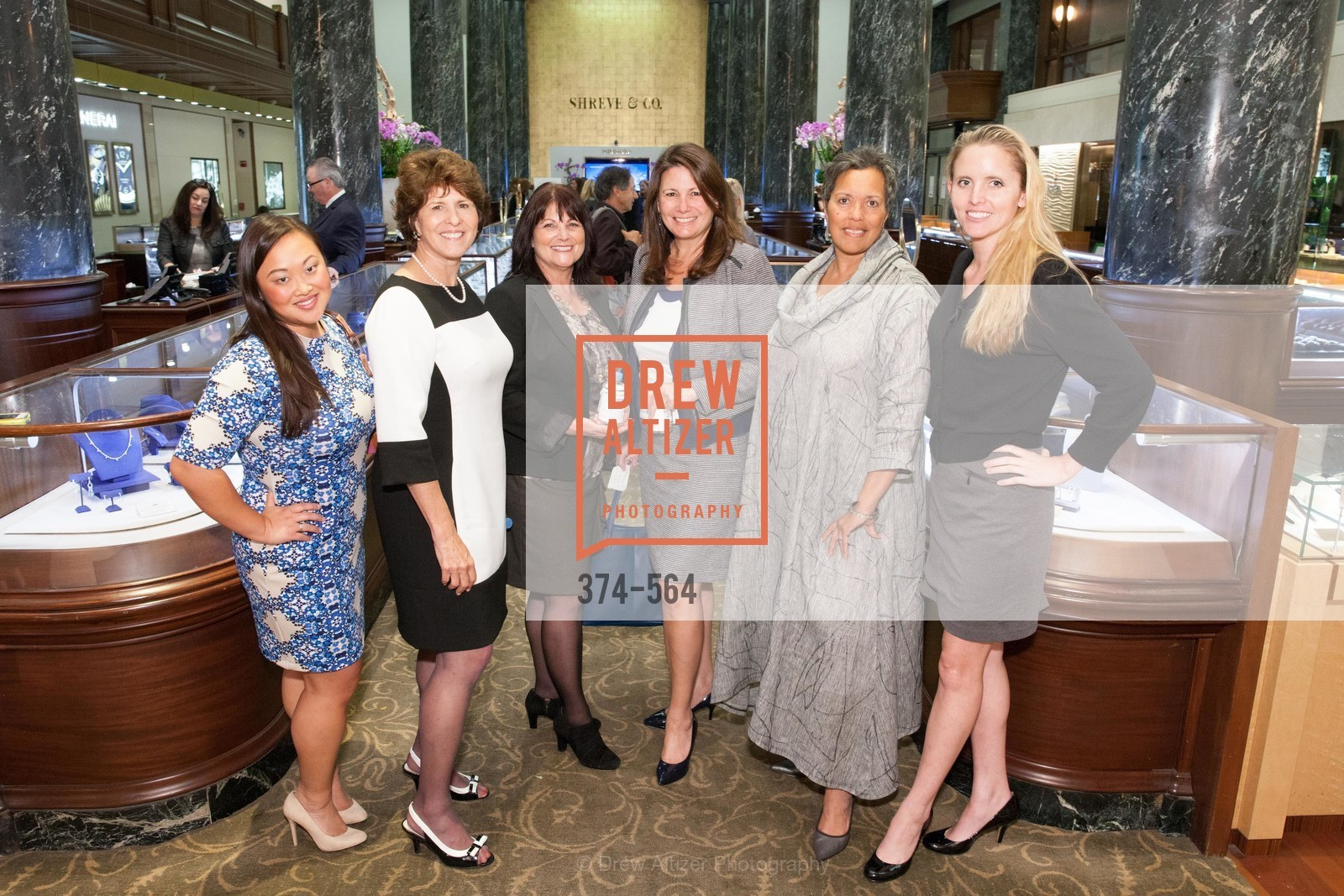 Wendy Cruz, Juanita Kizor, Laura Mulder, Carolyn Williams-Goldman, Jennifer Gibbs, Montine Felso, SHREVE & CO. Hosts AMERICAN CANCER SOCIETY BENEFIT, US, September 10th, 2014,Drew Altizer, Drew Altizer Photography, full-service agency, private events, San Francisco photographer, photographer california