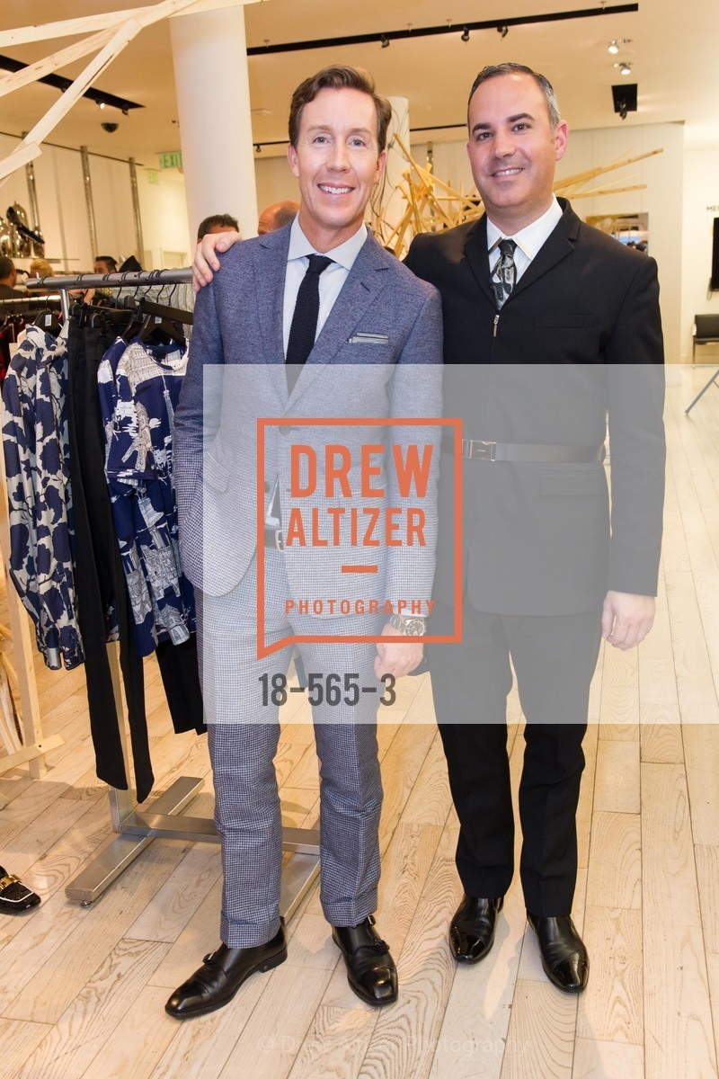 Eric Jennings, Robert Arnold-Kraft, SAKS FIFTH AVENUE Hosts The GLAAD GALA Kick-Off Party, US, September 12th, 2014,Drew Altizer, Drew Altizer Photography, full-service agency, private events, San Francisco photographer, photographer california