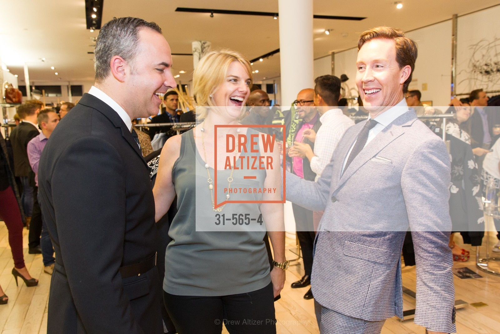 Robert Arnold-Kraft, Sarah Kate Ellis, Eric Jennings, SAKS FIFTH AVENUE Hosts The GLAAD GALA Kick-Off Party, US, September 12th, 2014,Drew Altizer, Drew Altizer Photography, full-service agency, private events, San Francisco photographer, photographer california