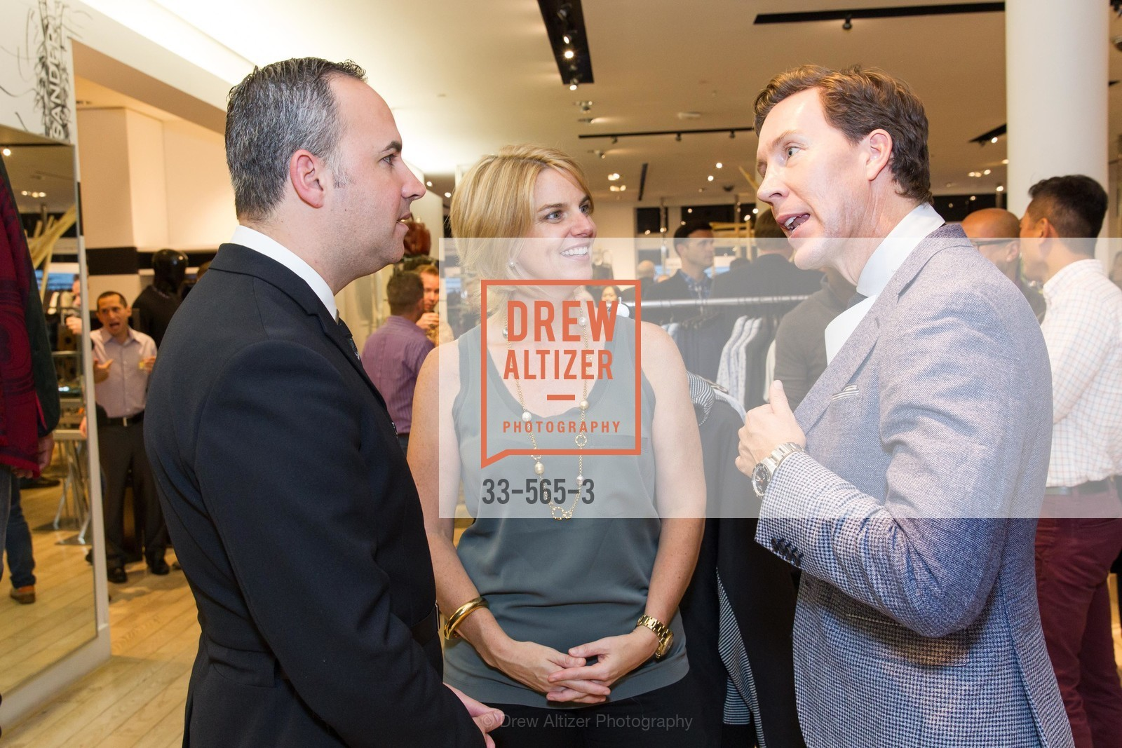 Robert Arnold-Kraft, Sarah Kate Ellis, Eric Jennings, GLAAD GALA Kick-Off Party Hosted by SAKS FIFTH AVENUE, Saks Fifth Avenue. 384 Post Street, September 12th, 2014,Drew Altizer, Drew Altizer Photography, full-service agency, private events, San Francisco photographer, photographer california