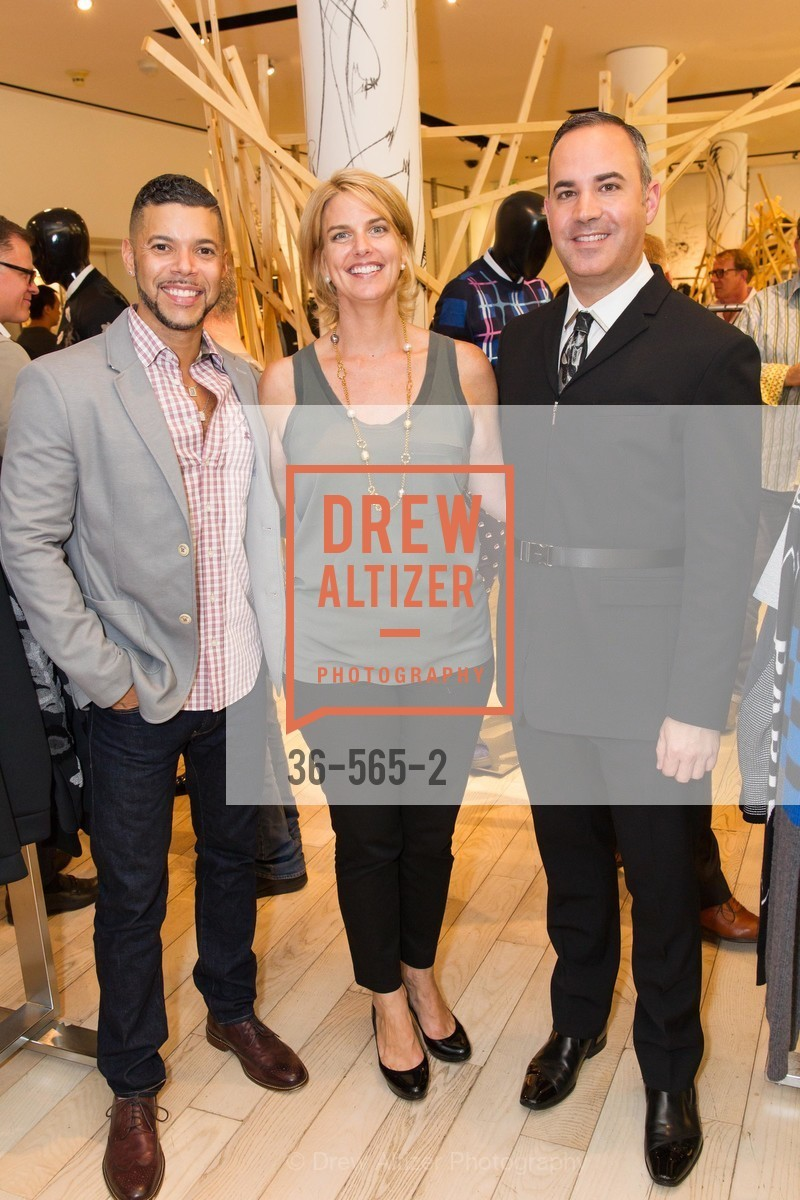 Wilson Cruz, Sarah Kate Ellis, Robert Arnold-Kraft, SAKS FIFTH AVENUE Hosts The GLAAD GALA Kick-Off Party, US, September 12th, 2014,Drew Altizer, Drew Altizer Photography, full-service agency, private events, San Francisco photographer, photographer california