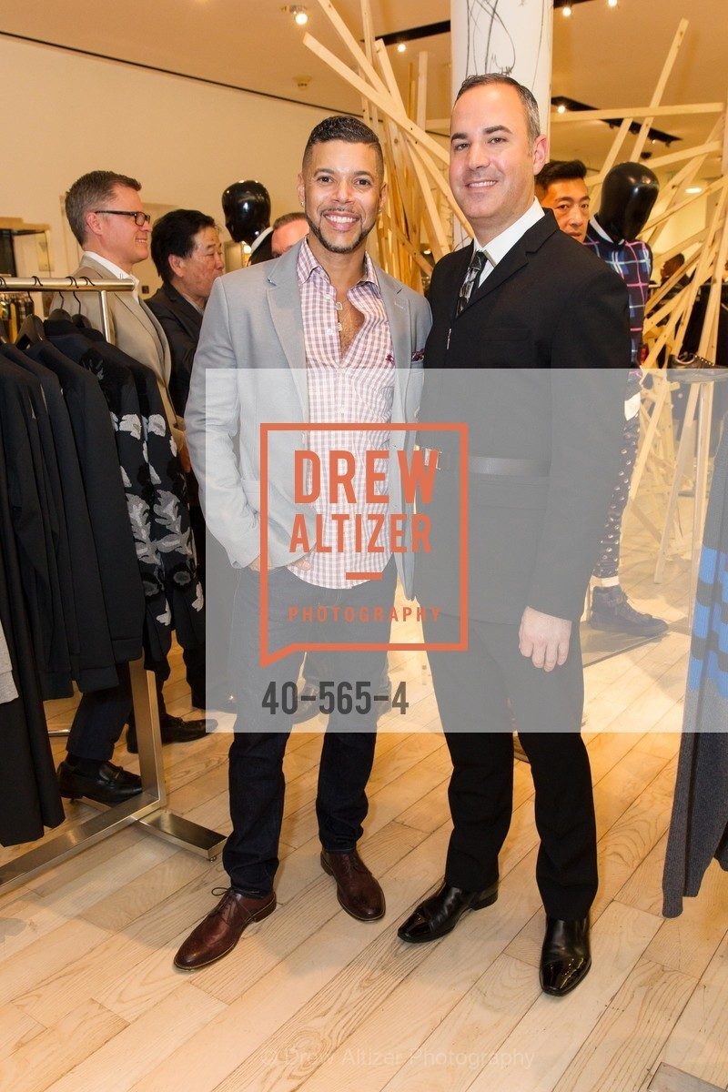Wilson Kraft, Robert Arnold-Kraft, SAKS FIFTH AVENUE Hosts The GLAAD GALA Kick-Off Party, US, September 12th, 2014,Drew Altizer, Drew Altizer Photography, full-service agency, private events, San Francisco photographer, photographer california