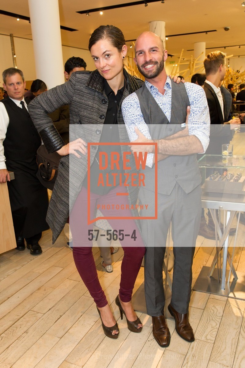 Lauren Dowling, Christopher Vasquez, GLAAD GALA Kick-Off Party Hosted by SAKS FIFTH AVENUE, Saks Fifth Avenue. 384 Post Street, September 12th, 2014,Drew Altizer, Drew Altizer Photography, full-service agency, private events, San Francisco photographer, photographer california