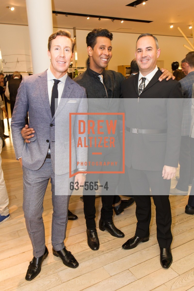Eric Jennings, Emillio Mesa, Robert Arnold-Kraft, SAKS FIFTH AVENUE Hosts The GLAAD GALA Kick-Off Party, US, September 12th, 2014,Drew Altizer, Drew Altizer Photography, full-service agency, private events, San Francisco photographer, photographer california