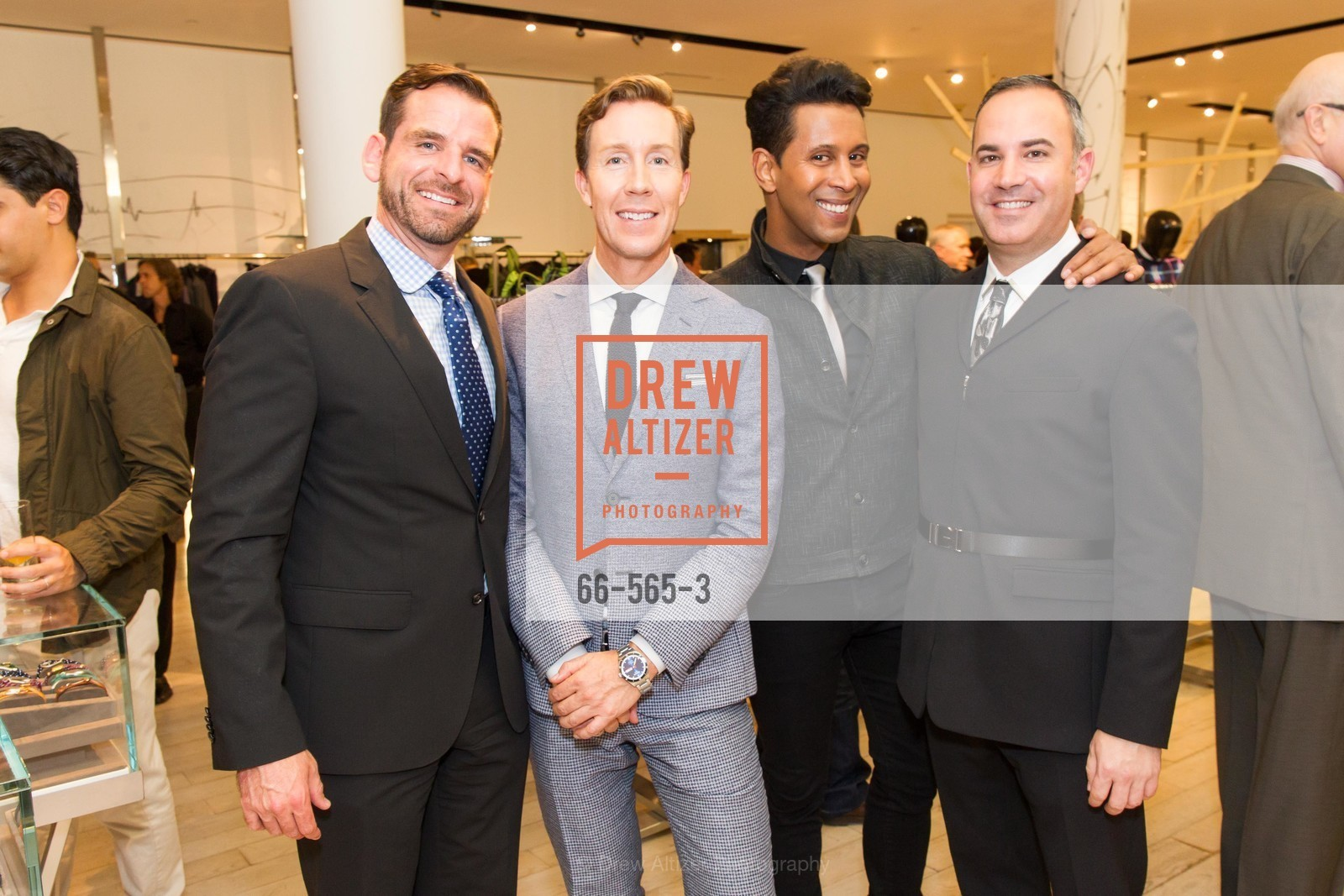 Ryan Williams, Eric Jennings, Emillio Mesa, Rober Arnold-Kraft, SAKS FIFTH AVENUE Hosts The GLAAD GALA Kick-Off Party, US, September 12th, 2014,Drew Altizer, Drew Altizer Photography, full-service agency, private events, San Francisco photographer, photographer california