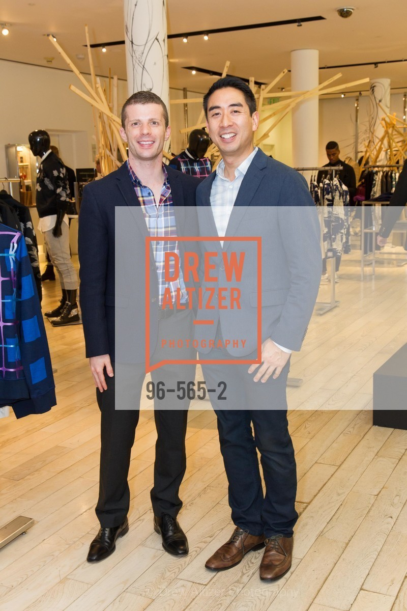 Jeff Jacobi, David Tsai, SAKS FIFTH AVENUE Hosts The GLAAD GALA Kick-Off Party, US, September 12th, 2014,Drew Altizer, Drew Altizer Photography, full-service agency, private events, San Francisco photographer, photographer california