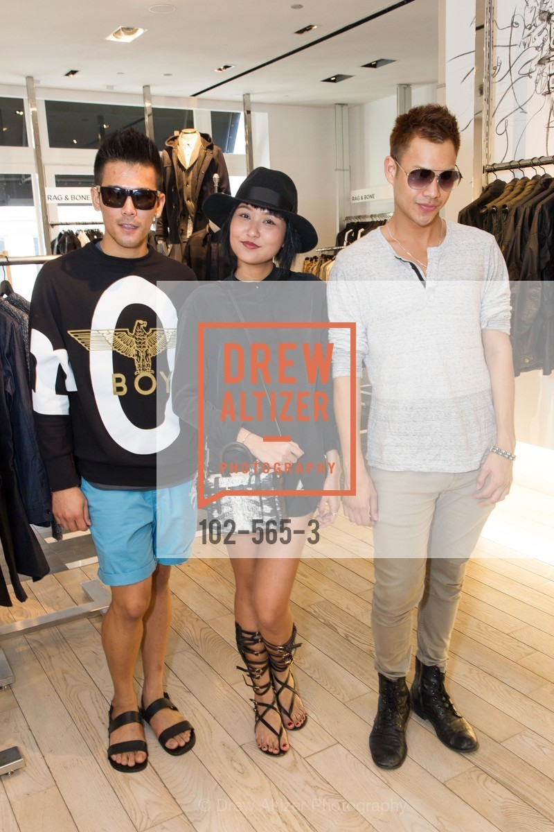 Danny Phuengthai, Mole Chomchom, Golffy Visavasompop, GLAAD GALA Kick-Off Party Hosted by SAKS FIFTH AVENUE, Saks Fifth Avenue. 384 Post Street, September 12th, 2014,Drew Altizer, Drew Altizer Photography, full-service agency, private events, San Francisco photographer, photographer california
