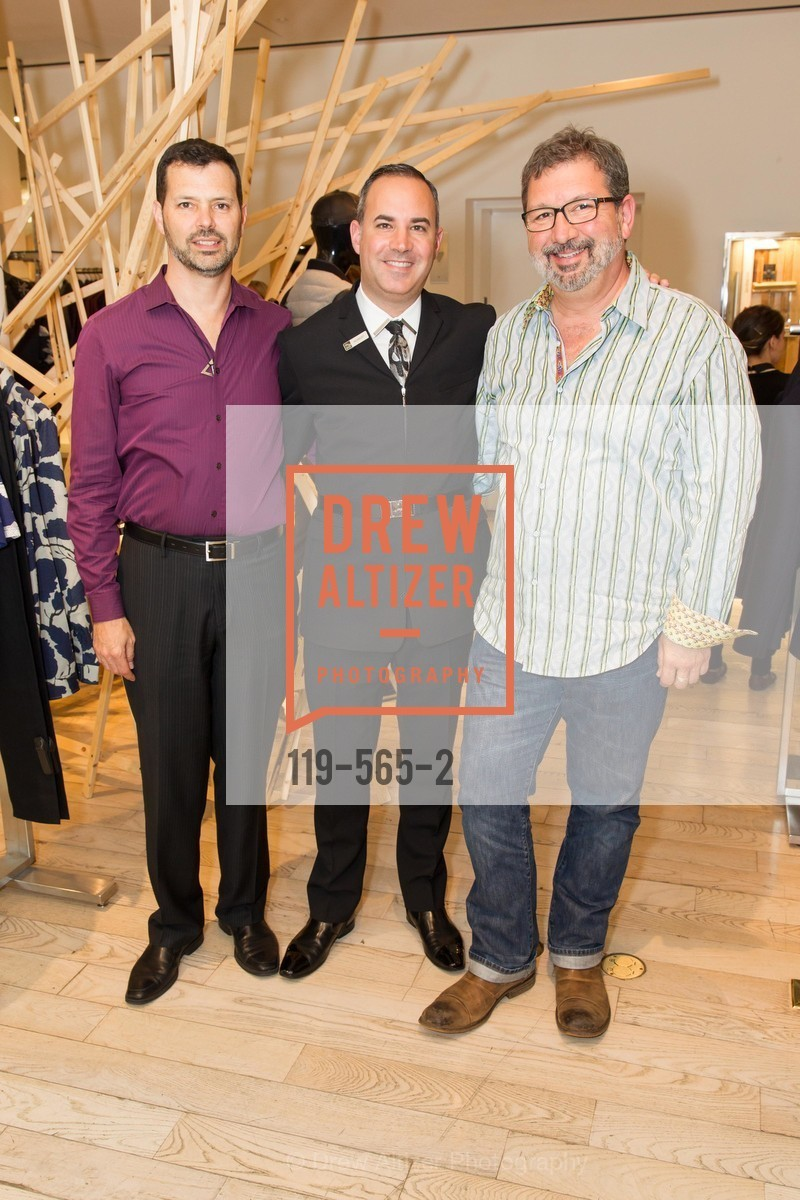 John Maimone, Robert Arnold-Kraft, Randy Arnold-Kraft, GLAAD GALA Kick-Off Party Hosted by SAKS FIFTH AVENUE, Saks Fifth Avenue. 384 Post Street, September 12th, 2014,Drew Altizer, Drew Altizer Photography, full-service agency, private events, San Francisco photographer, photographer california