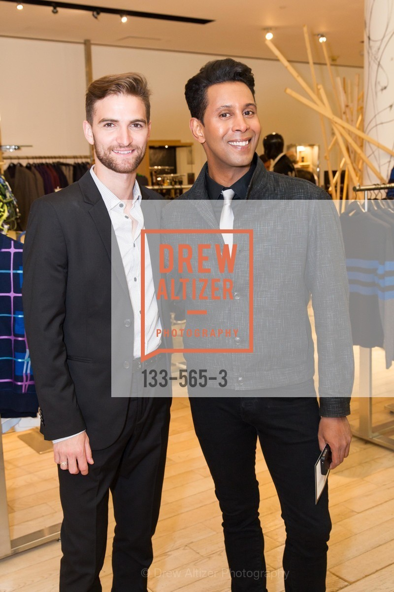 JD Scalzo, Emillio Mesa, SAKS FIFTH AVENUE Hosts The GLAAD GALA Kick-Off Party, US, September 12th, 2014,Drew Altizer, Drew Altizer Photography, full-service agency, private events, San Francisco photographer, photographer california