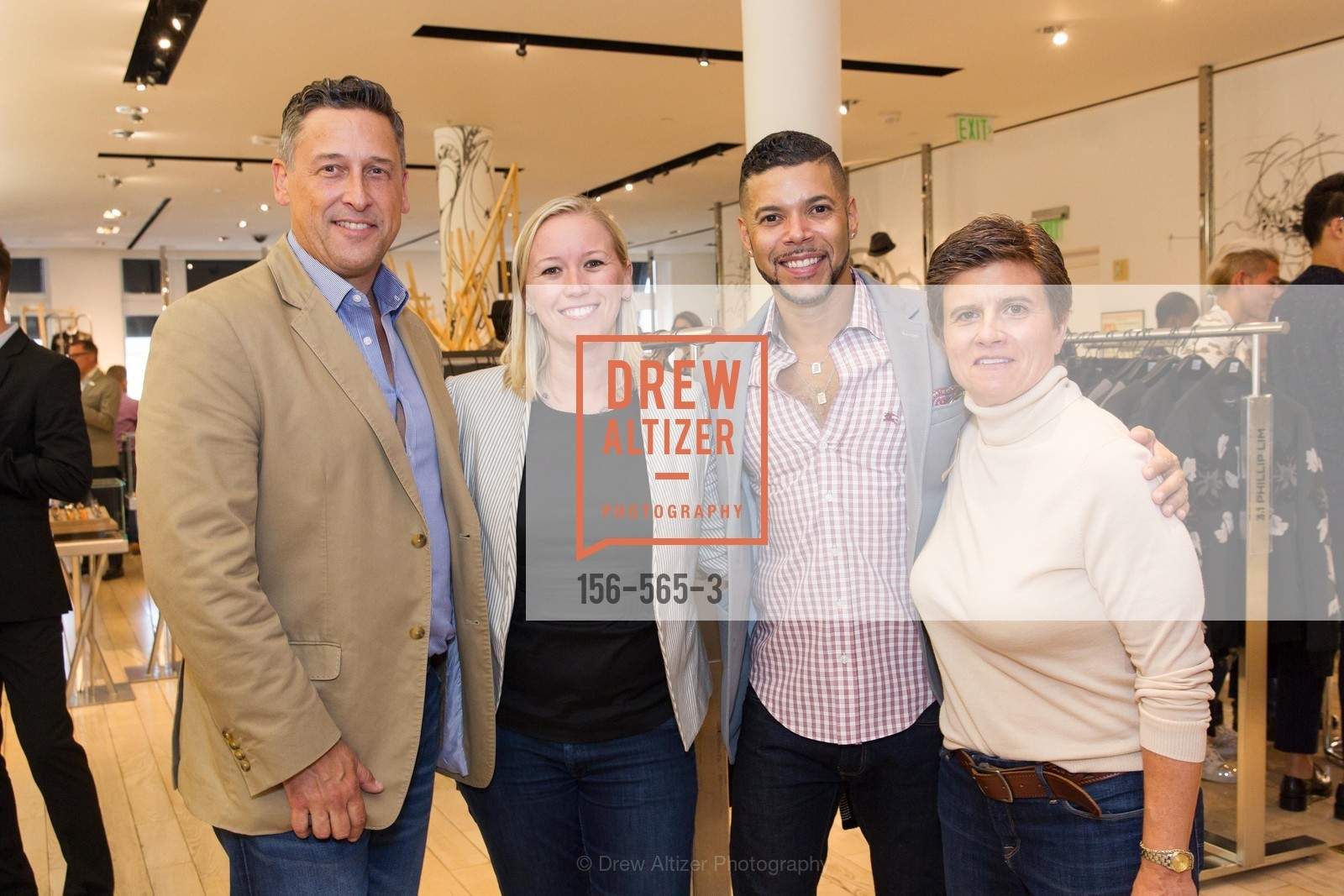 Kevin Patsel, Wilson Cruz, Kathy Paspali, GLAAD GALA Kick-Off Party Hosted by SAKS FIFTH AVENUE, Saks Fifth Avenue. 384 Post Street, September 12th, 2014,Drew Altizer, Drew Altizer Photography, full-service agency, private events, San Francisco photographer, photographer california