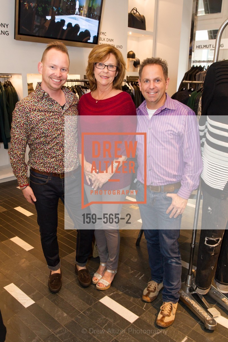 Tommy Wright-Field, Anita Field, Tim Wright-Field, GLAAD GALA Kick-Off Party Hosted by SAKS FIFTH AVENUE, Saks Fifth Avenue. 384 Post Street, September 12th, 2014,Drew Altizer, Drew Altizer Photography, full-service agency, private events, San Francisco photographer, photographer california