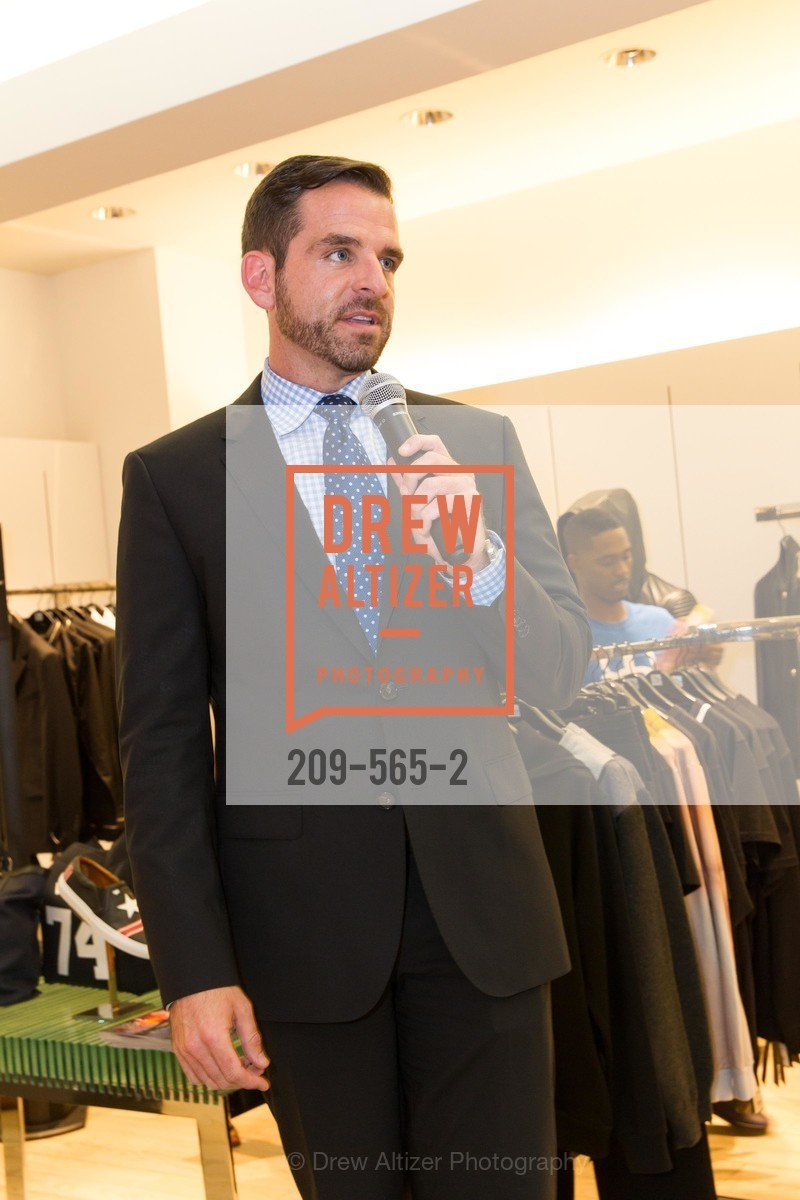 Ryan Williams, GLAAD GALA Kick-Off Party Hosted by SAKS FIFTH AVENUE, Saks Fifth Avenue. 384 Post Street, September 12th, 2014,Drew Altizer, Drew Altizer Photography, full-service agency, private events, San Francisco photographer, photographer california