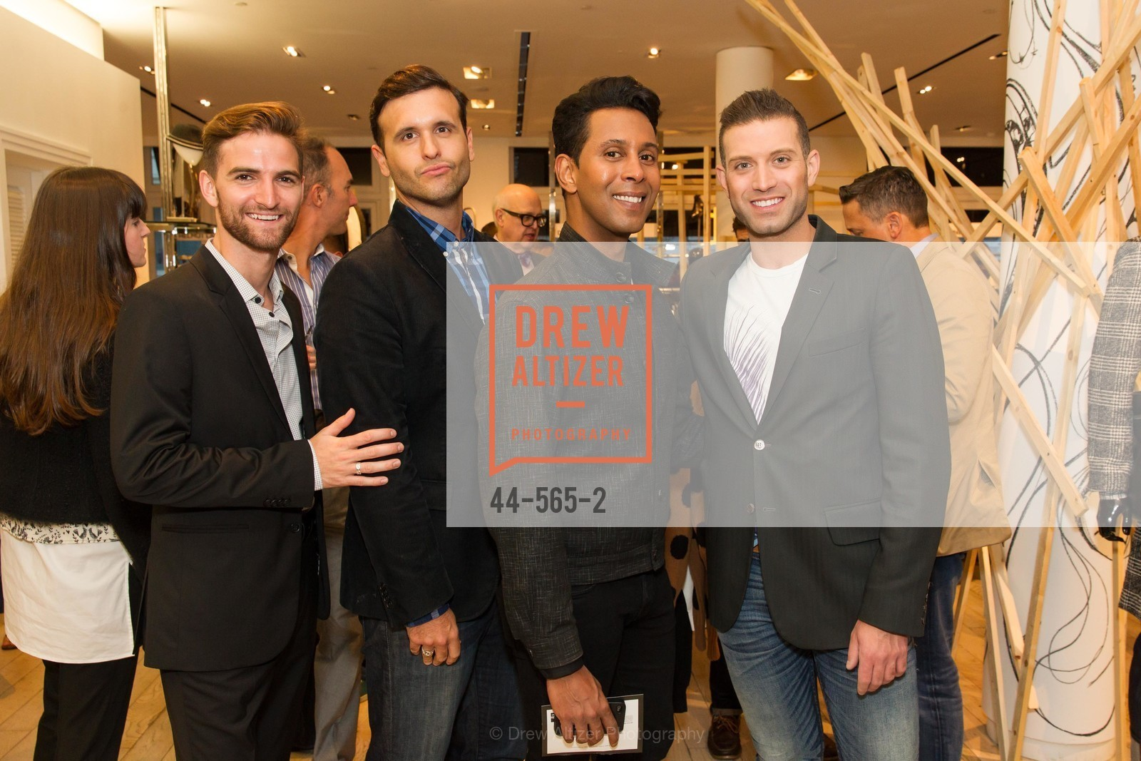 JD Scalzo, Emillio Mesa, Omar Sharif Jr., GLAAD GALA Kick-Off Party Hosted by SAKS FIFTH AVENUE, Saks Fifth Avenue. 384 Post Street, September 12th, 2014,Drew Altizer, Drew Altizer Photography, full-service agency, private events, San Francisco photographer, photographer california