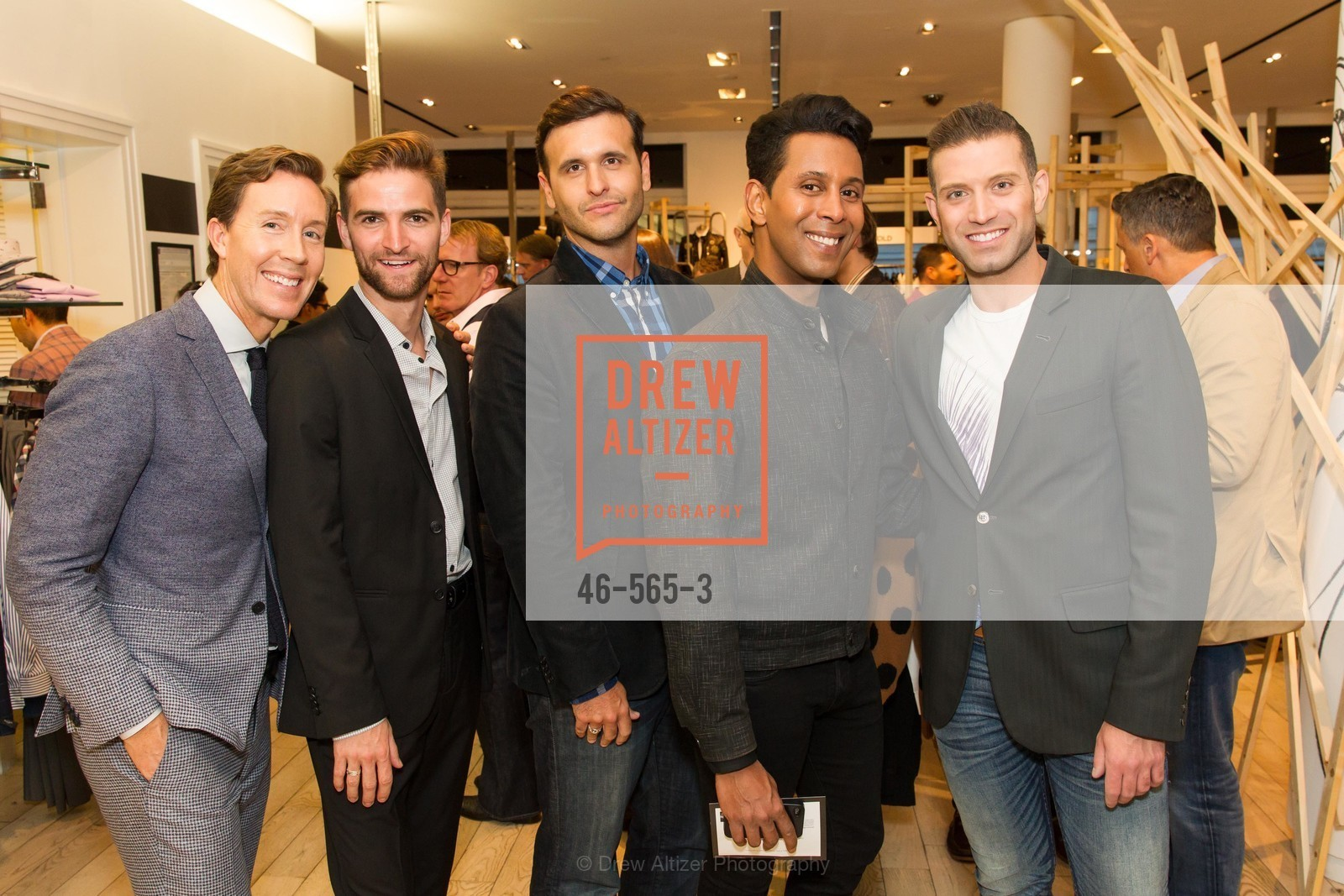 Eric Jennings, JD Scalzo, Emillio Mesa, Omar Sharif Jr., GLAAD GALA Kick-Off Party Hosted by SAKS FIFTH AVENUE, Saks Fifth Avenue. 384 Post Street, September 12th, 2014,Drew Altizer, Drew Altizer Photography, full-service agency, private events, San Francisco photographer, photographer california