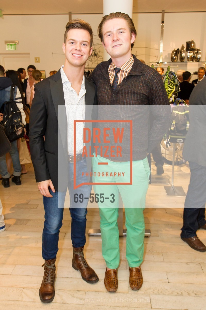 Cameron Whatley, Sam Eriksmoen, GLAAD GALA Kick-Off Party Hosted by SAKS FIFTH AVENUE, Saks Fifth Avenue. 384 Post Street, September 12th, 2014,Drew Altizer, Drew Altizer Photography, full-service agency, private events, San Francisco photographer, photographer california